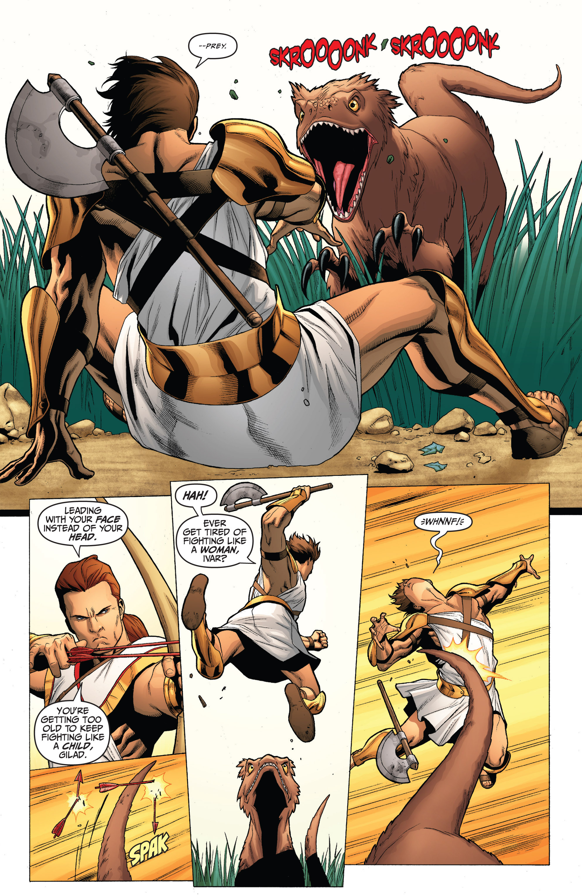 Read online Archer and Armstrong comic -  Issue #0 - 10
