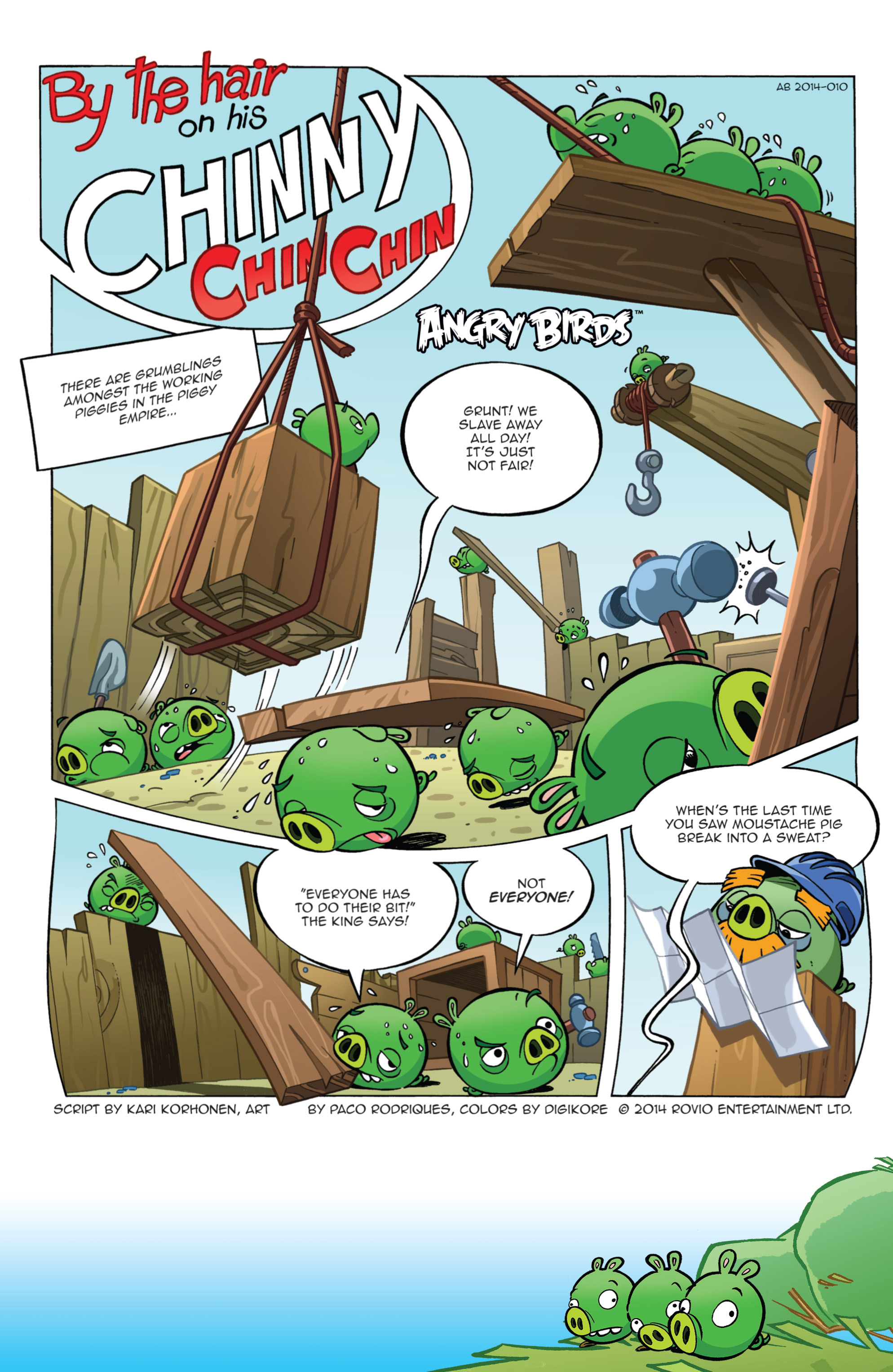 Read online Angry Birds Comics (2014) comic -  Issue #11 - 3