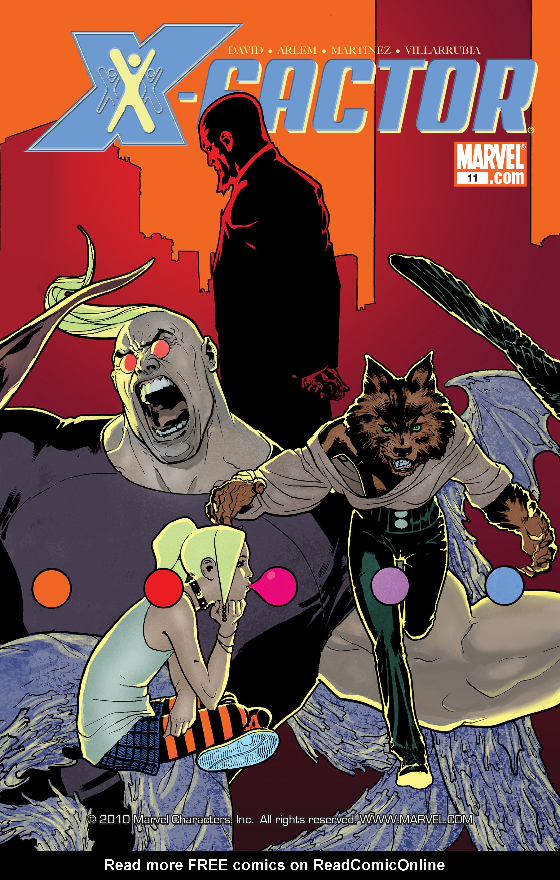 Read online X-Factor (2006) comic -  Issue #11 - 1