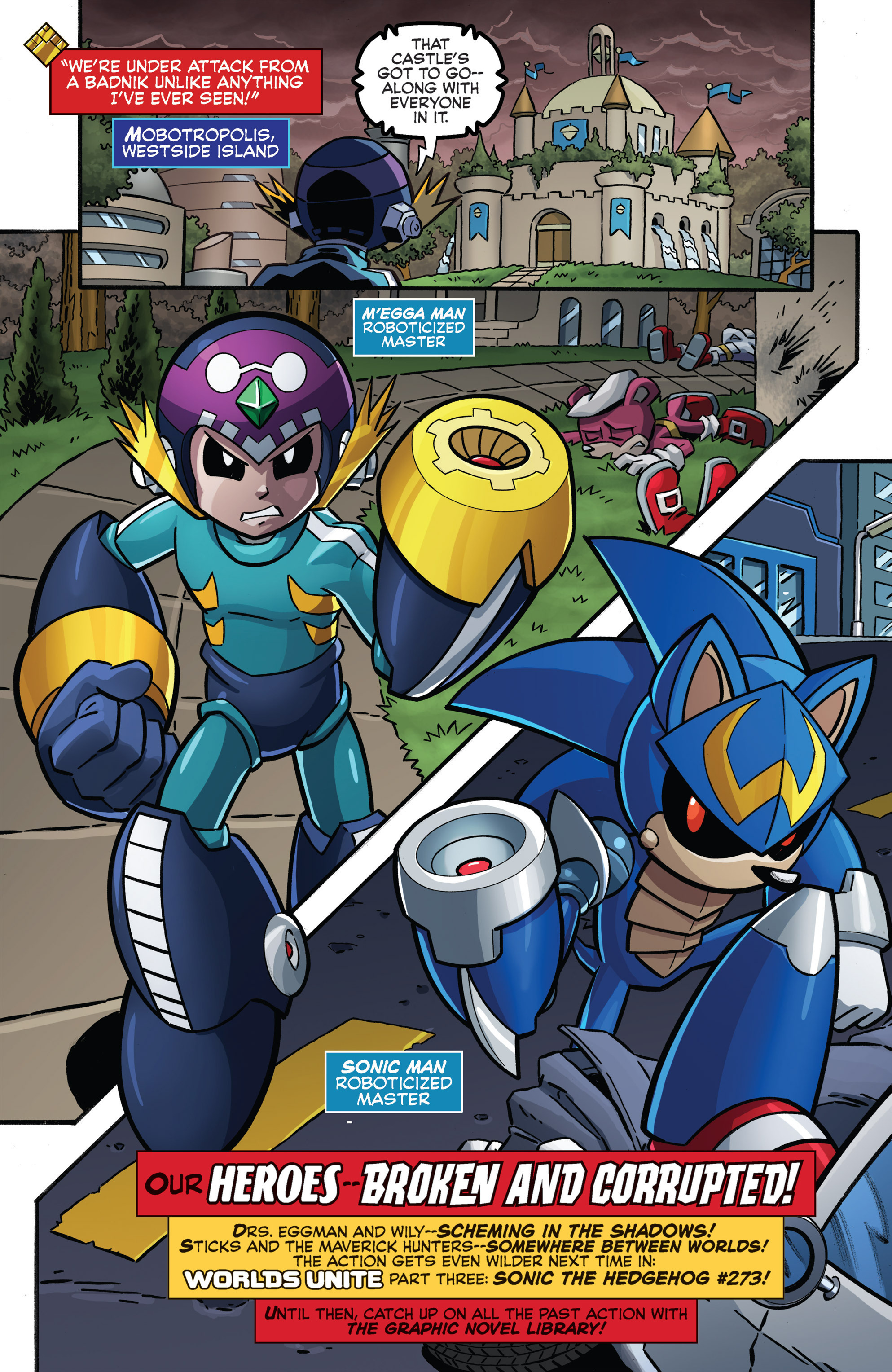 Read online Sonic Boom comic -  Issue #8 - 22