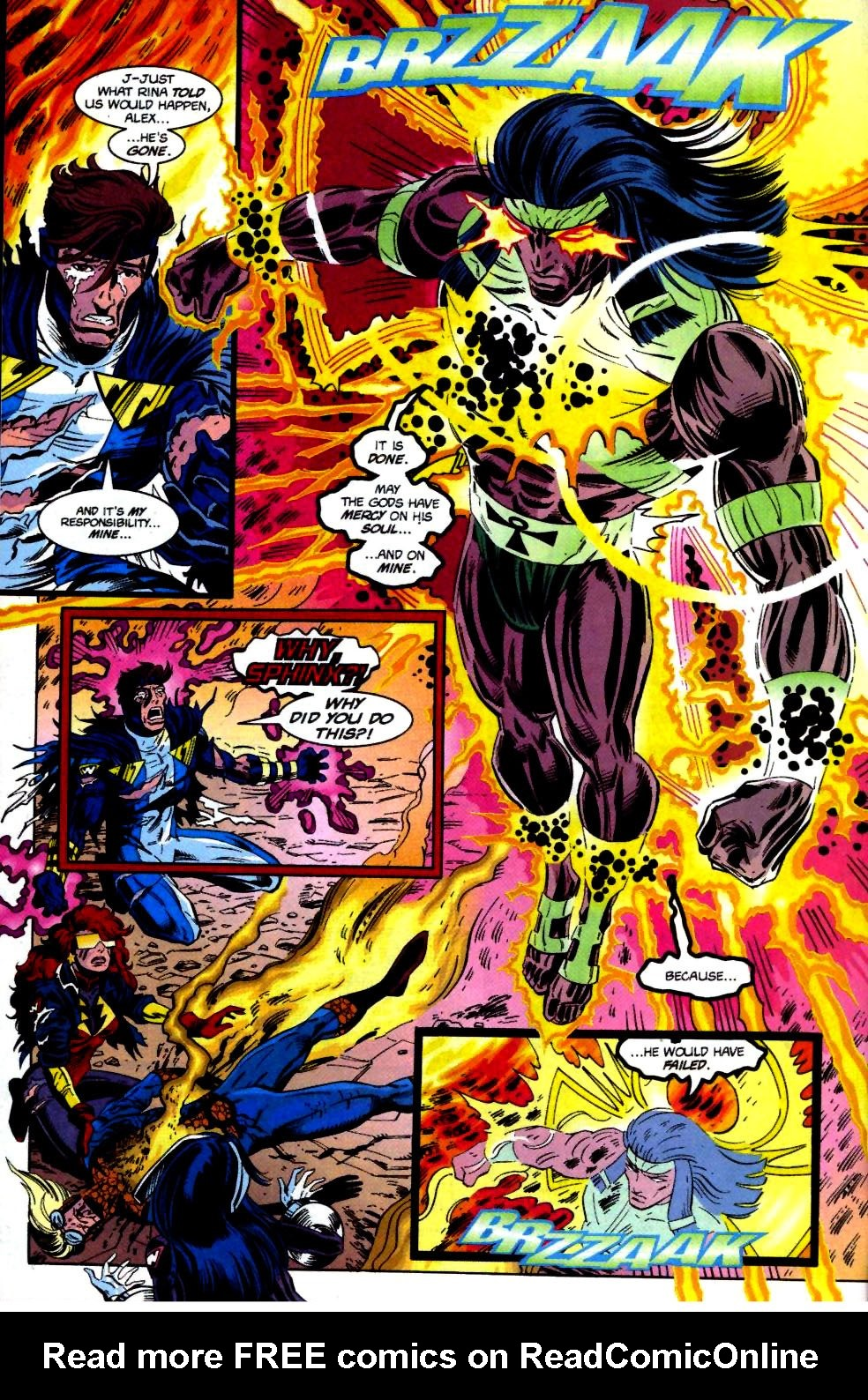 The New Warriors Issue #69 #73 - English 22