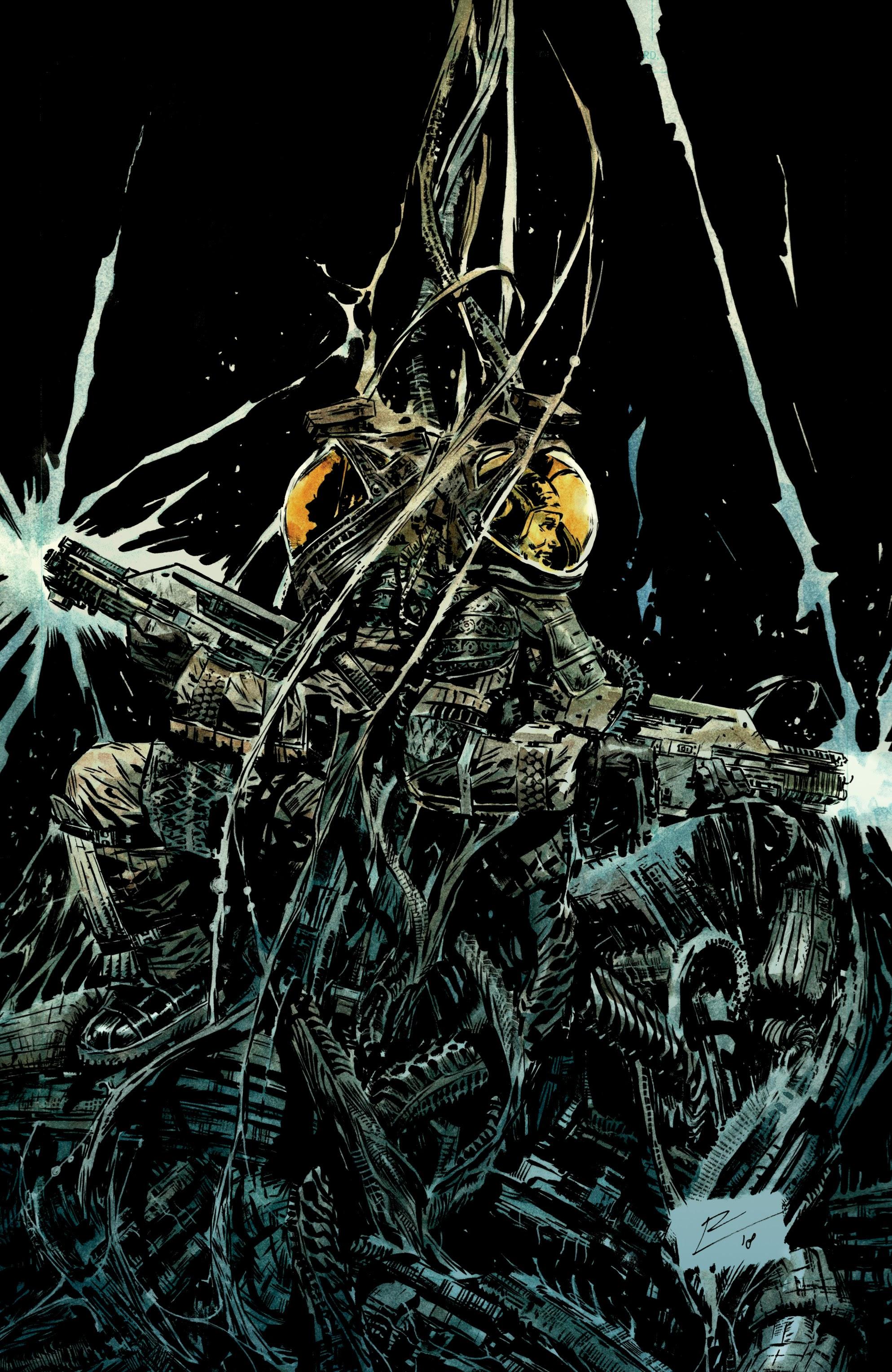 Read online Aliens: Resistance comic -  Issue # _TPB - 27