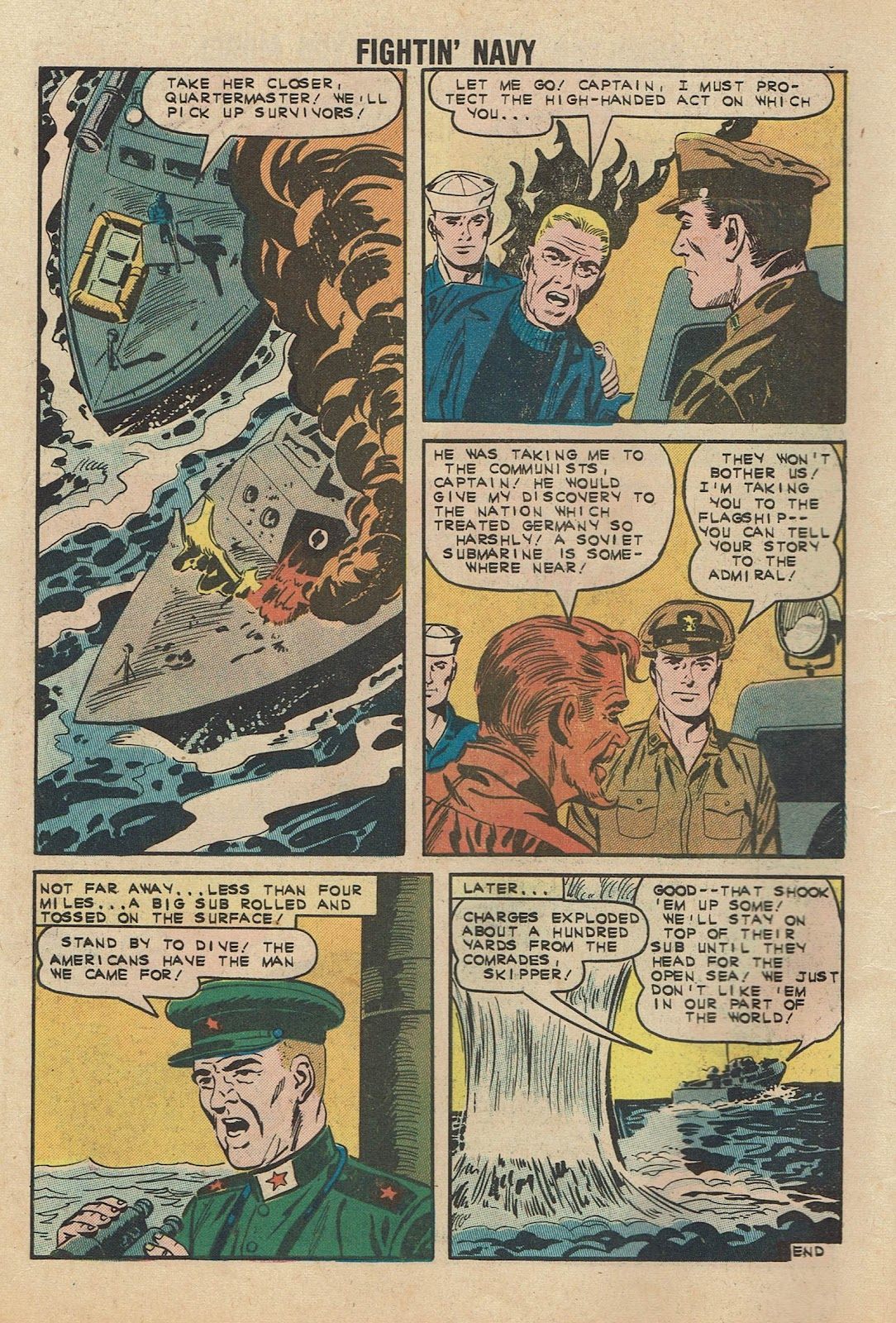 Read online Fightin' Navy comic -  Issue #104 - 10