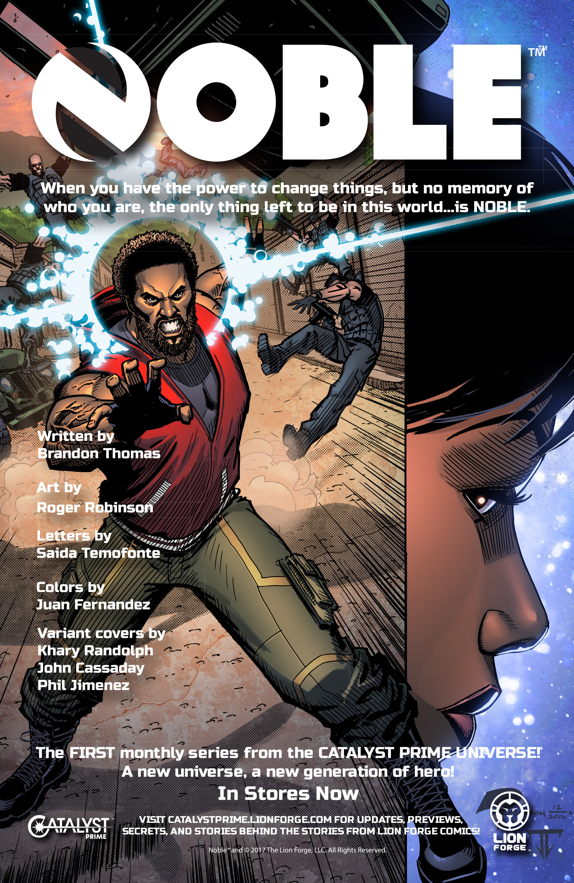 Read online Free Comic Book Day 2017 comic -  Issue # Catalyst Prime - The Event - 31