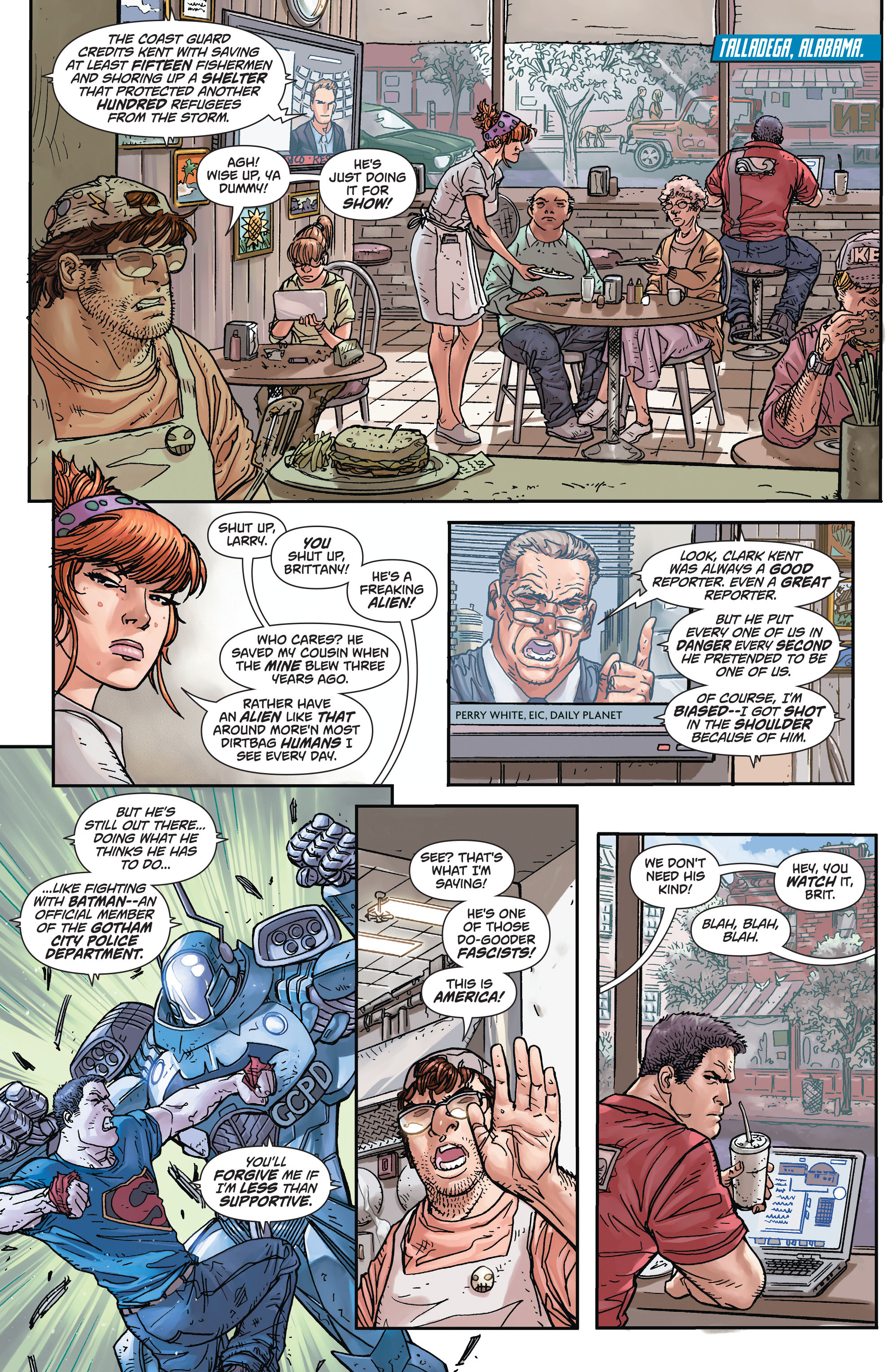 Read online Action Comics (2011) comic -  Issue #45 - 5