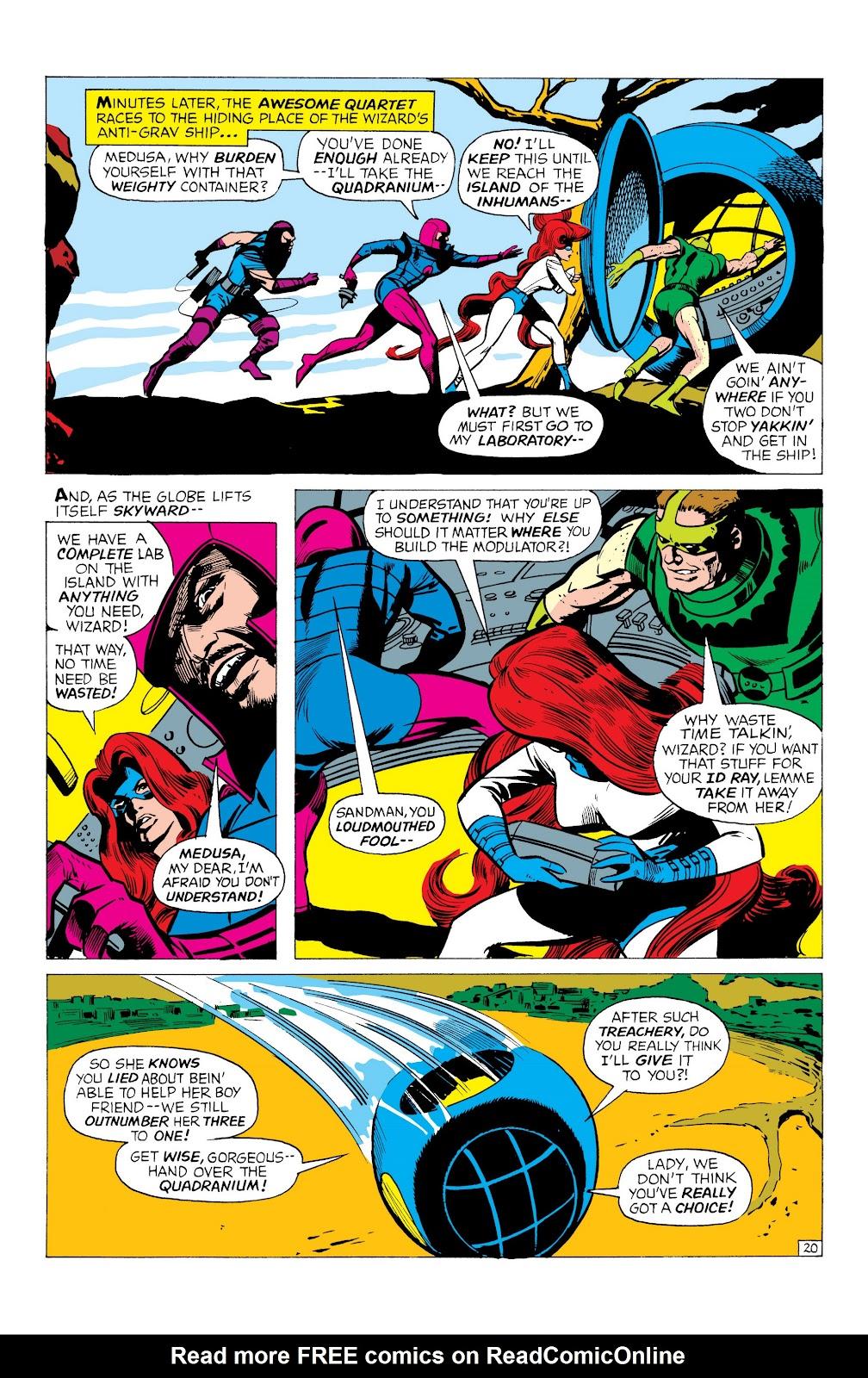 Read online Marvel Masterworks: The Inhumans comic -  Issue # TPB 1 (Part 1) - 63