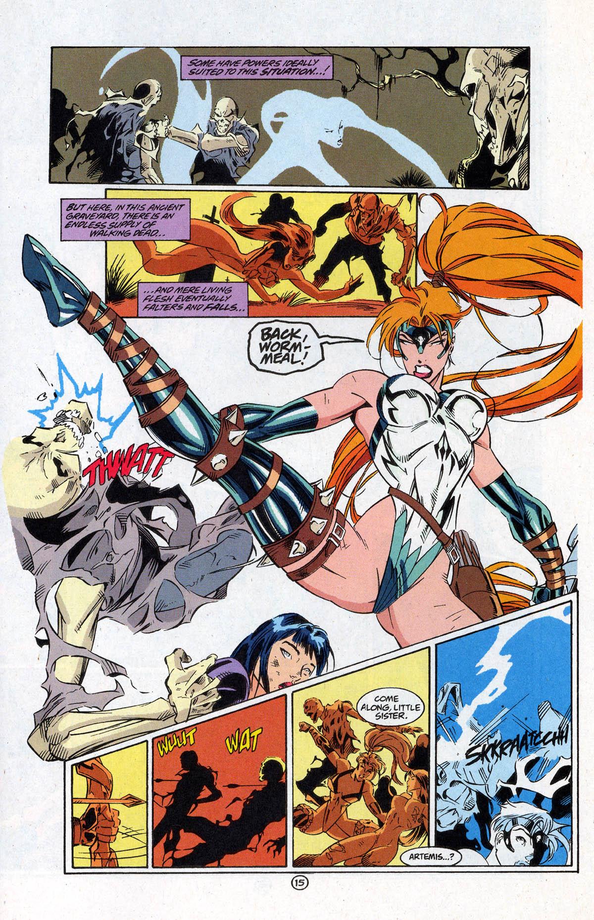 Read online Artemis: Requiem comic -  Issue #5 - 23