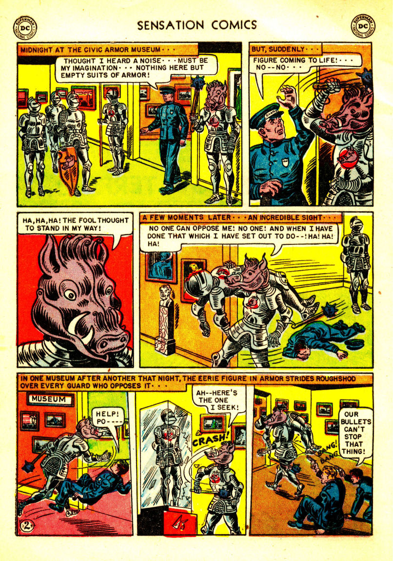Read online Sensation (Mystery) Comics comic -  Issue #106 - 4