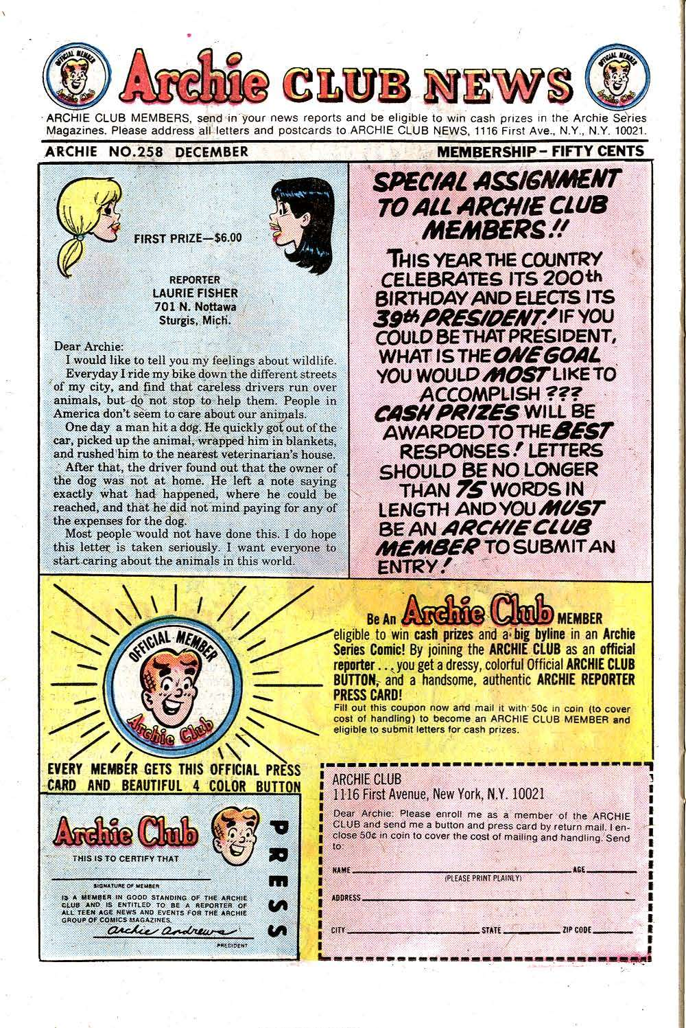 Read online Archie (1960) comic -  Issue #258 - 26