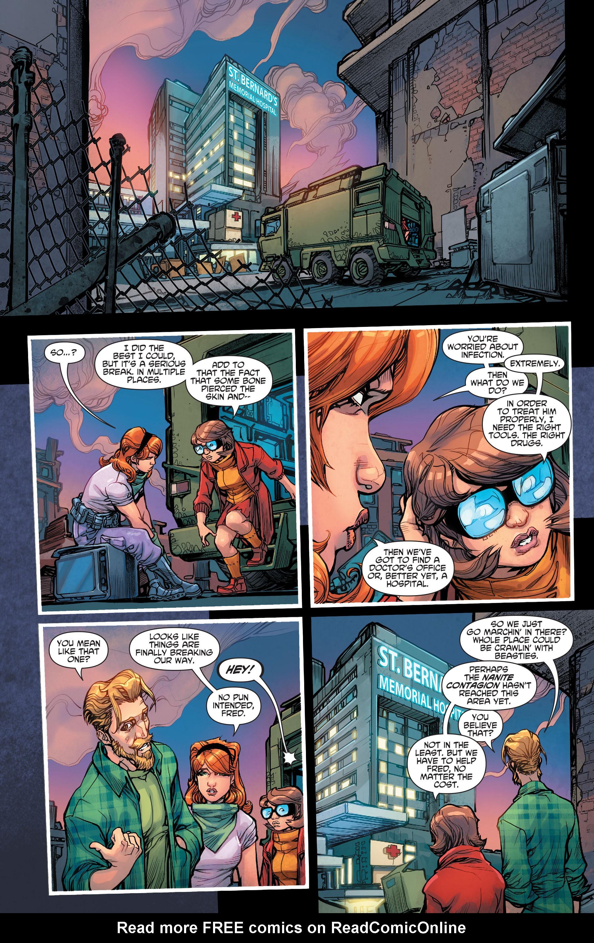 Read online Scooby Apocalypse comic -  Issue #7 - 23