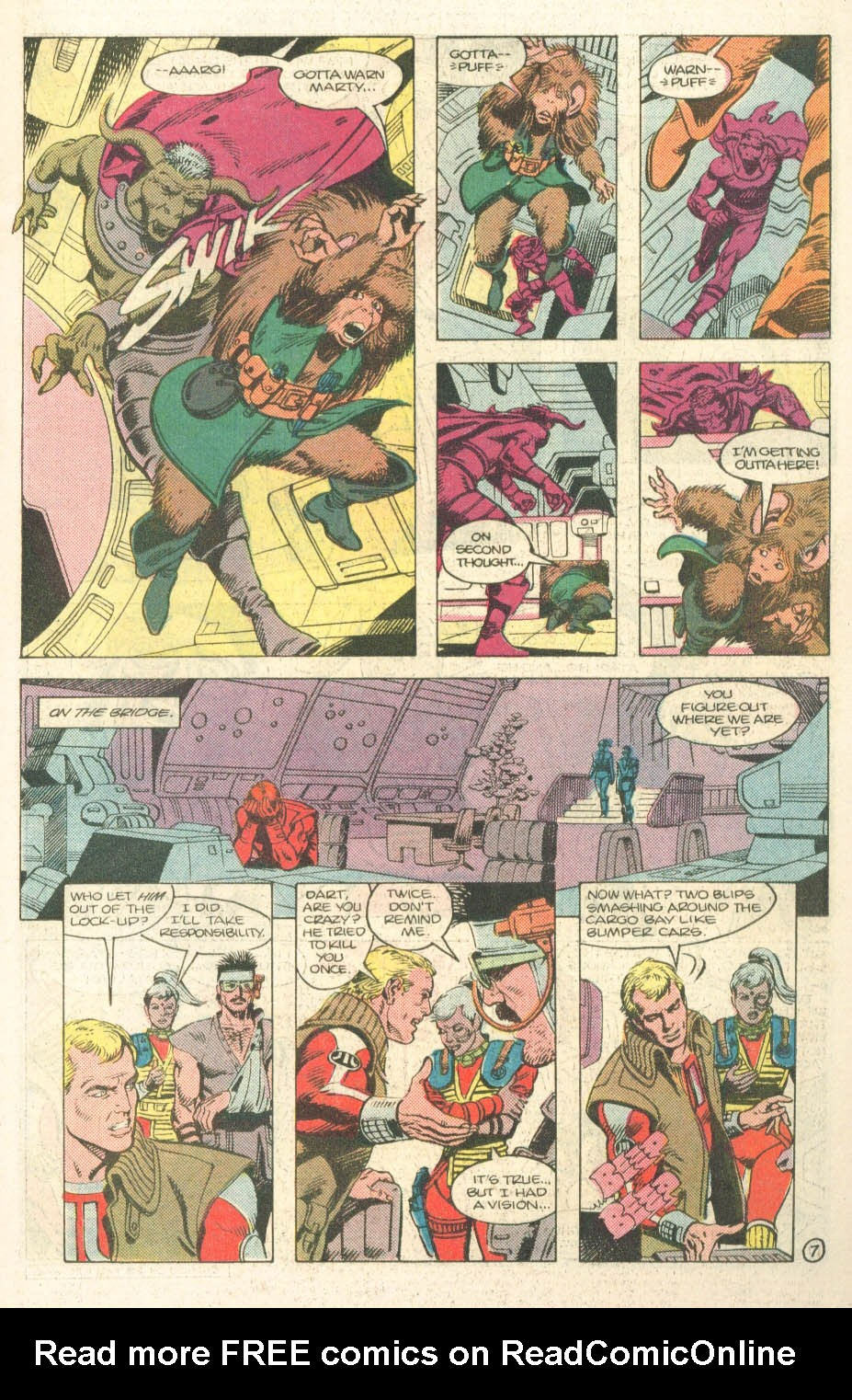 Read online Atari Force (1984) comic -  Issue #14 - 9