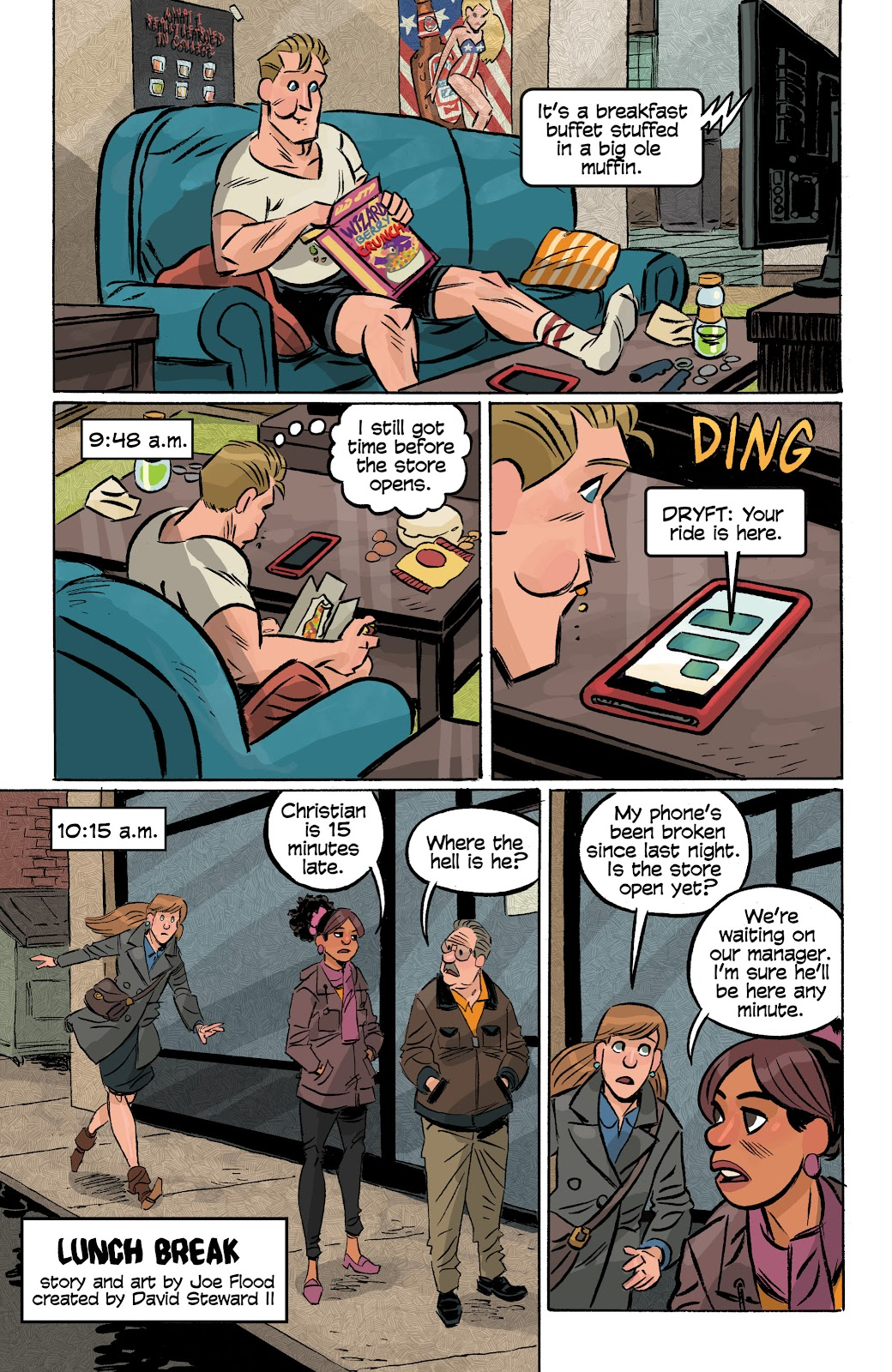 Read online Cellies comic -  Issue #8 - 4