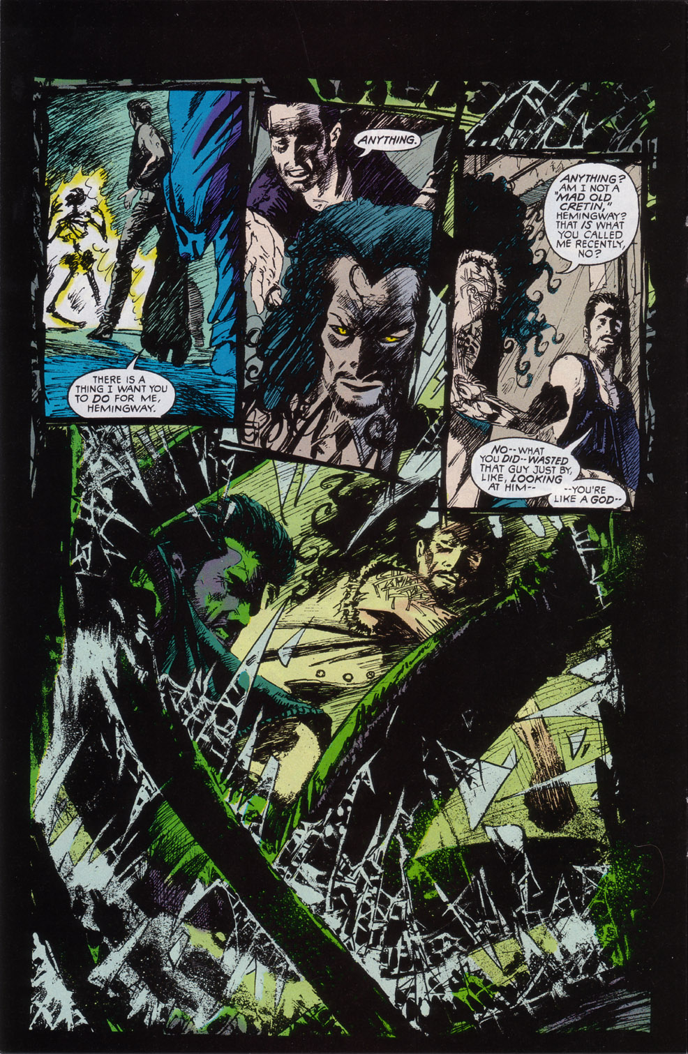 Read online Druid comic -  Issue #2 - 8