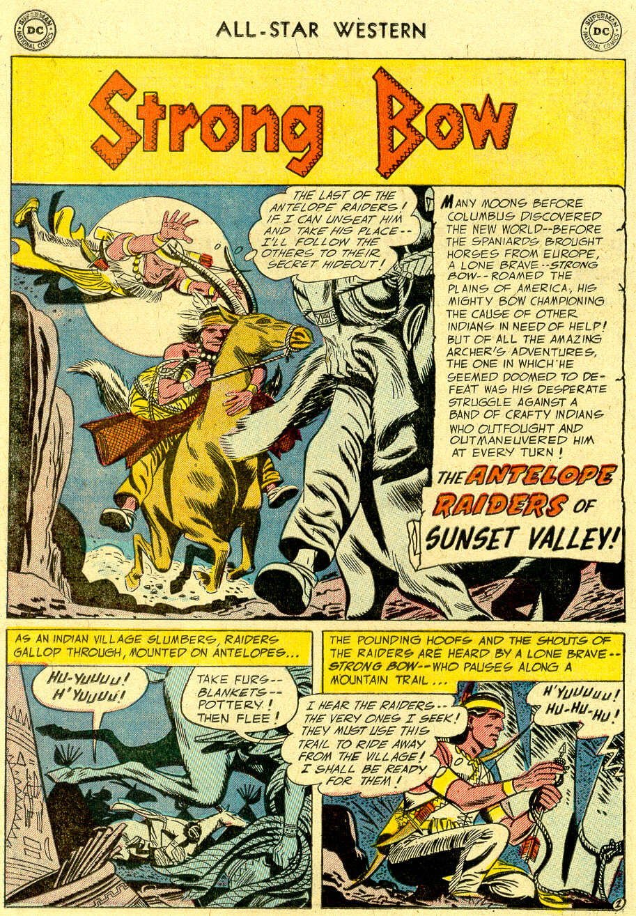 Read online All-Star Western (1951) comic -  Issue #83 - 12