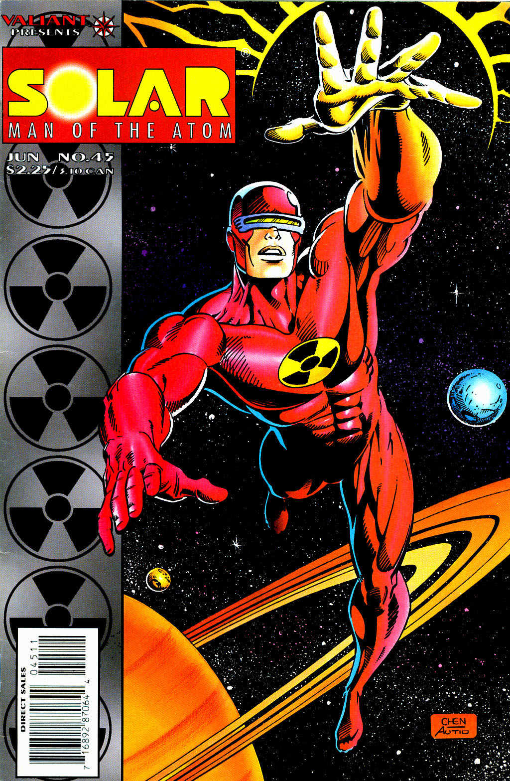 Read online Solar, Man of the Atom comic -  Issue #45 - 1
