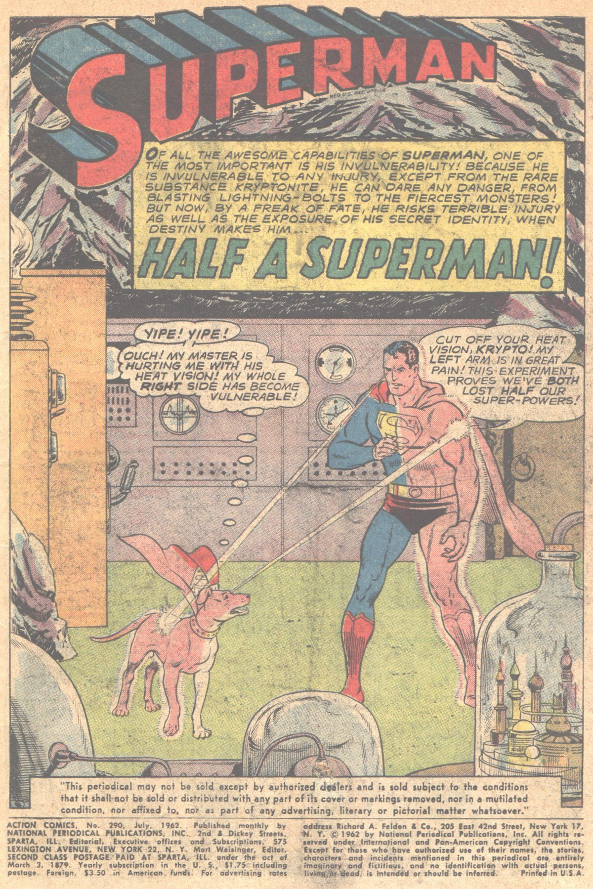 Read online Action Comics (1938) comic -  Issue #290 - 3