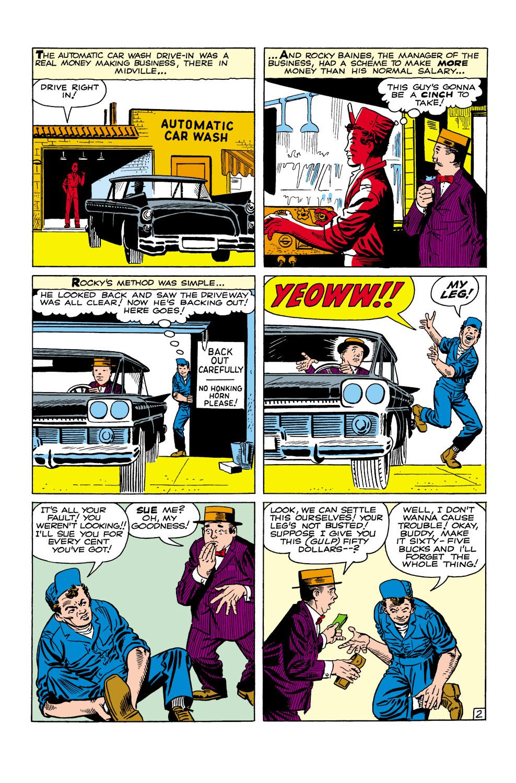 Read online Amazing Adventures (1961) comic -  Issue #2 - 23