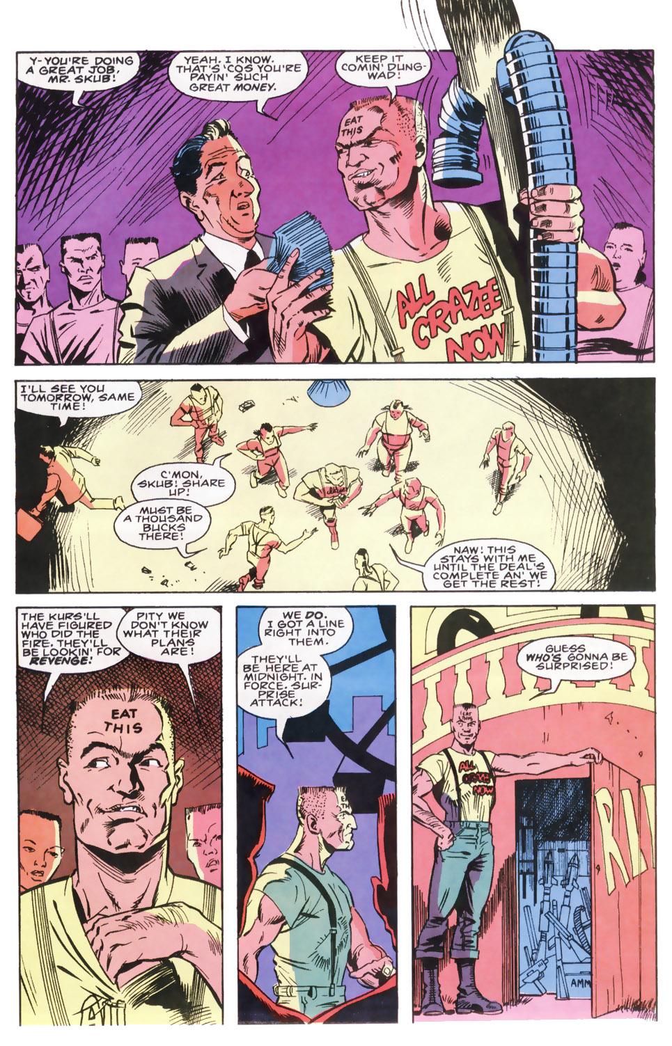 Read online Robocop (1990) comic -  Issue #8 - 9