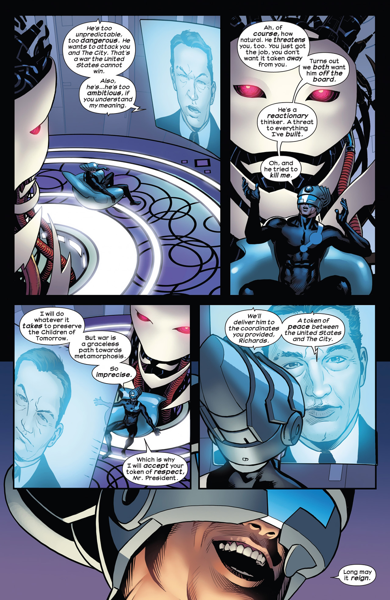 Read online Ultimate Comics Ultimates comic -  Issue #11 - 20