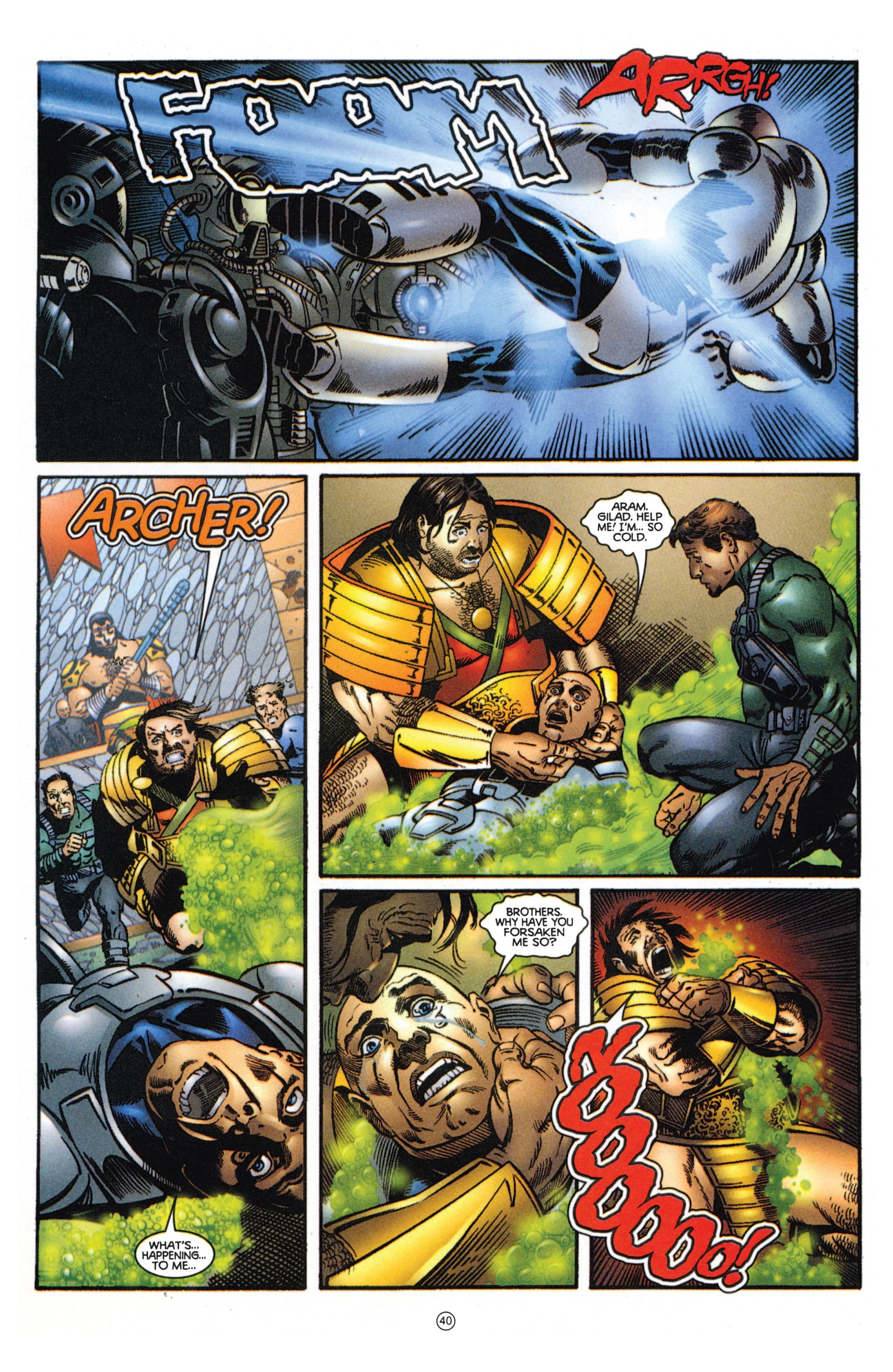Read online Eternal Warriors comic -  Issue # Issue Mog - 35