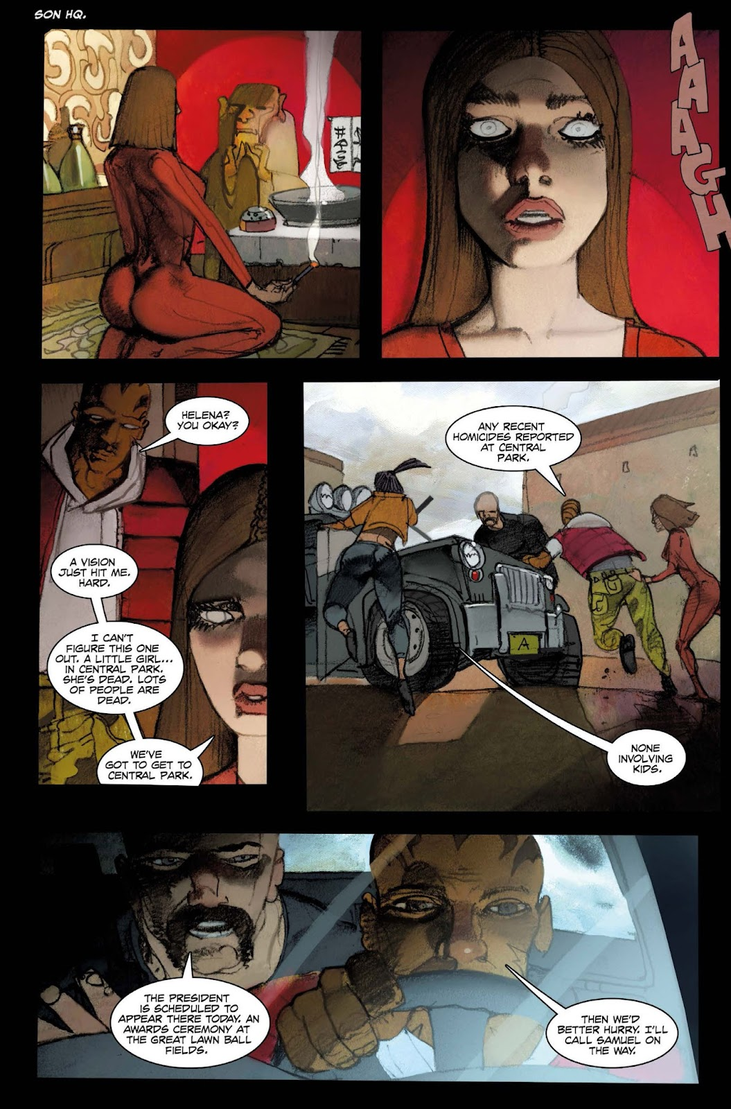 13 Coins issue TPB - Page 110