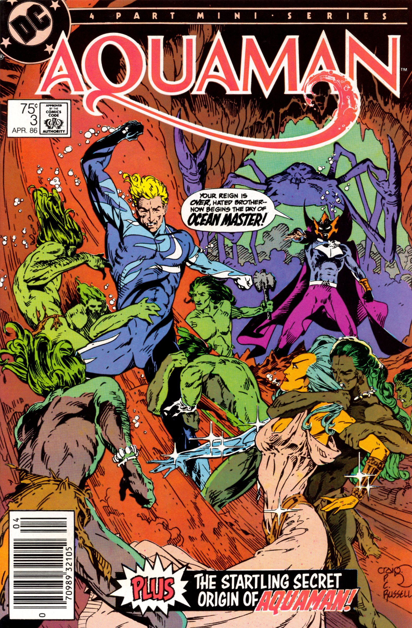 Read online Aquaman (1986) comic -  Issue #3 - 1