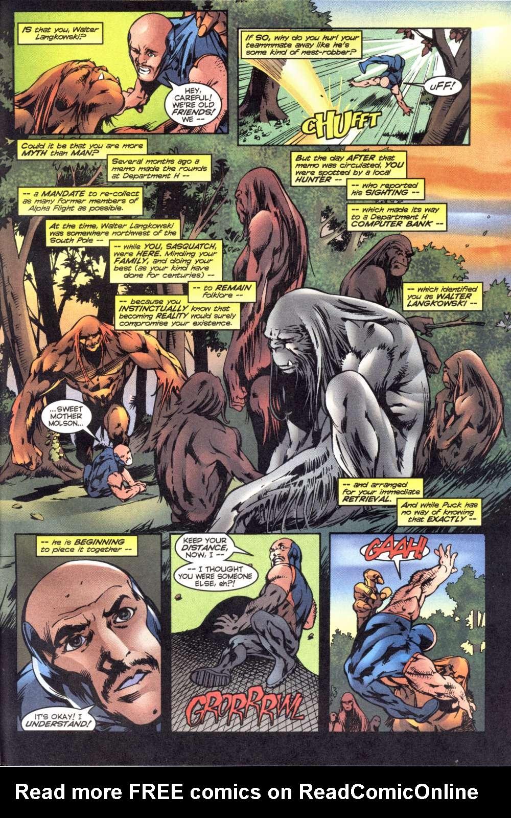 Read online Alpha Flight (1997) comic -  Issue #6 - 23