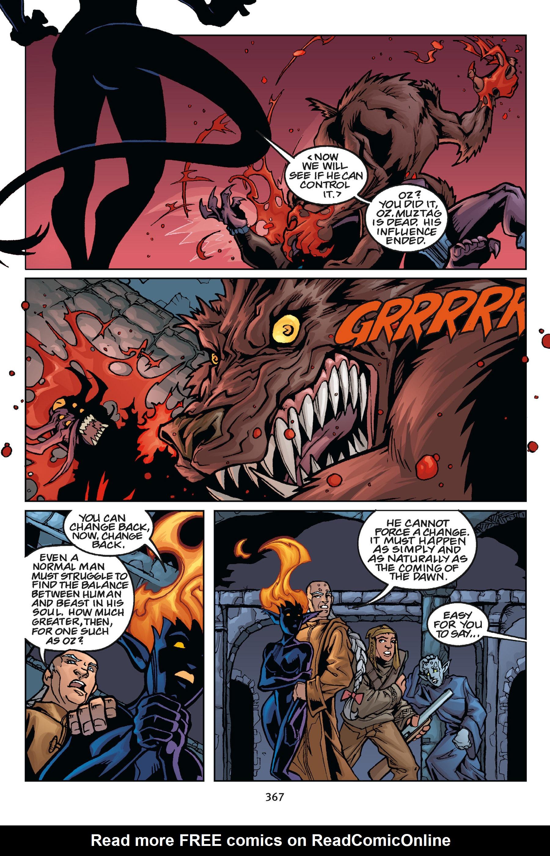 Read online Buffy the Vampire Slayer: Omnibus comic -  Issue # TPB 5 - 365