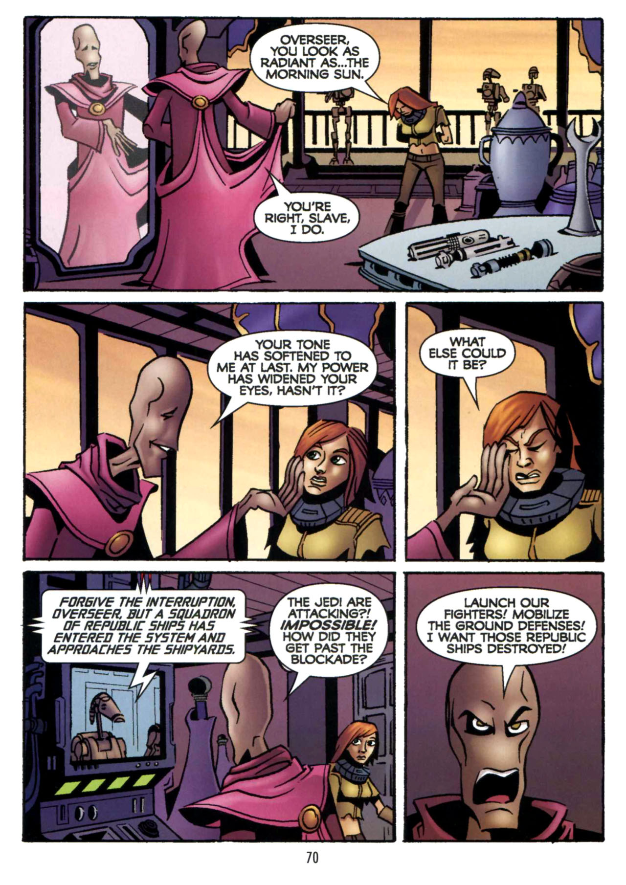Read online Star Wars: The Clone Wars - Shipyards of Doom comic -  Issue # Full - 68