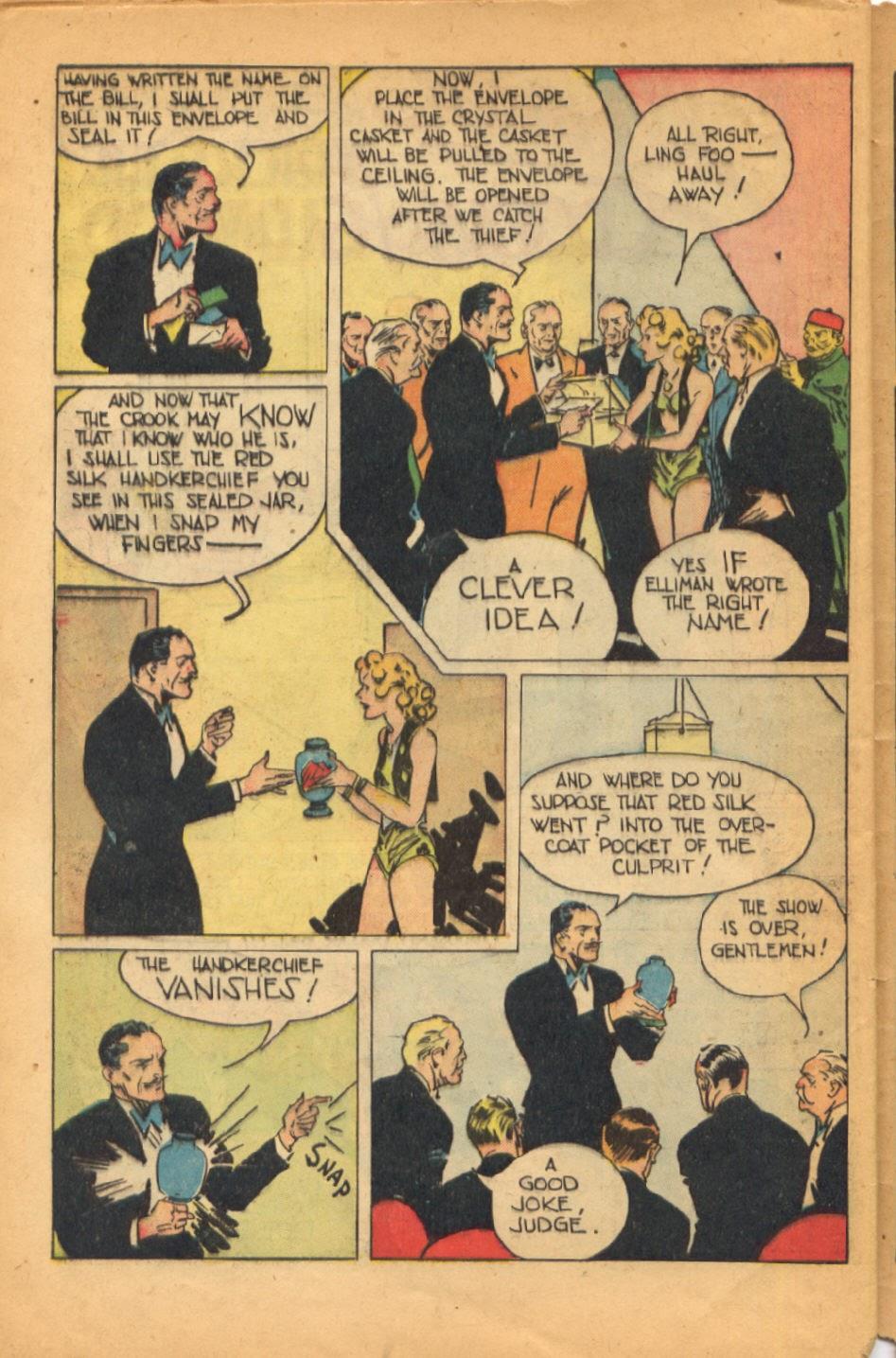 Read online Super-Magician Comics comic -  Issue #52 - 41