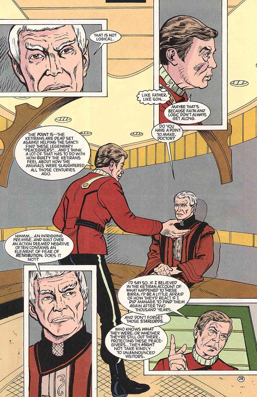 Read online Star Trek (1989) comic -  Issue # Annual 3 - 32