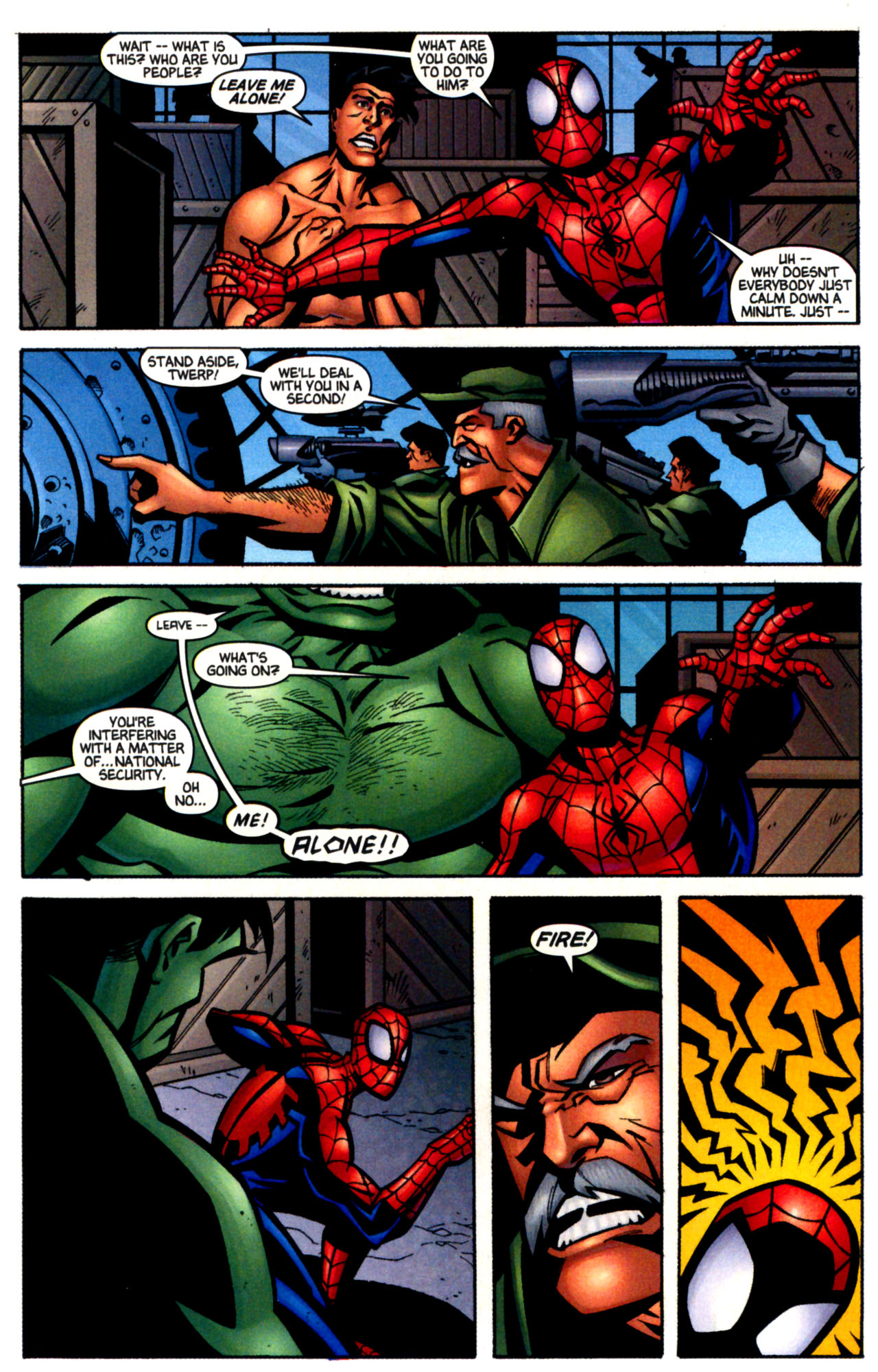 Read online Ultimate Marvel Team-Up comic -  Issue #3 - 26