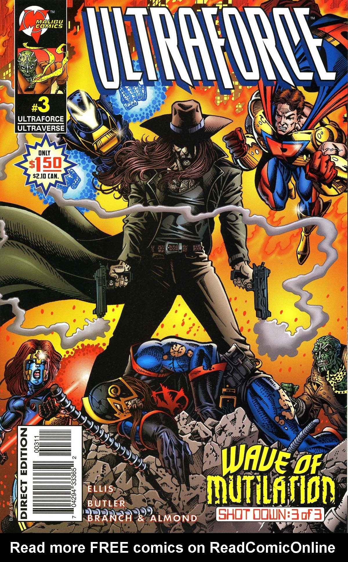 Read online UltraForce (1995) comic - Issue #3