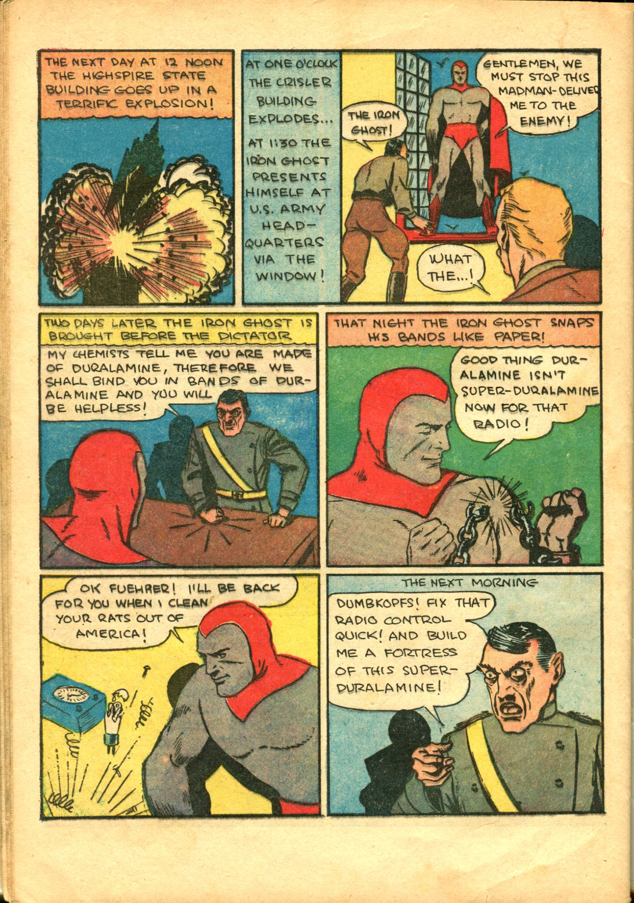 Read online Shadow Comics comic -  Issue #10 - 54