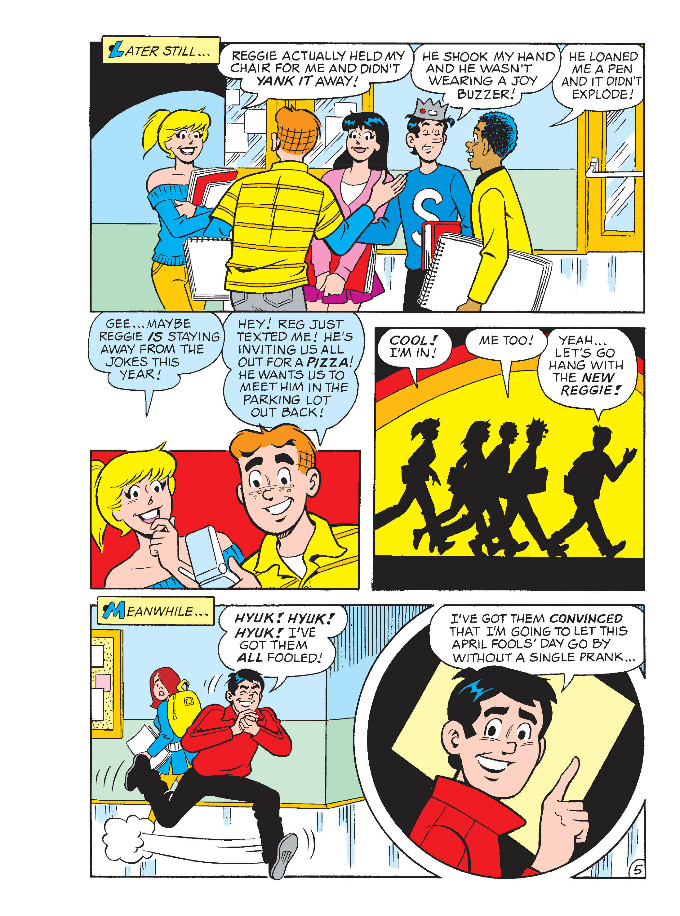 Read online Archie's Funhouse Double Digest comic -  Issue #13 - 118