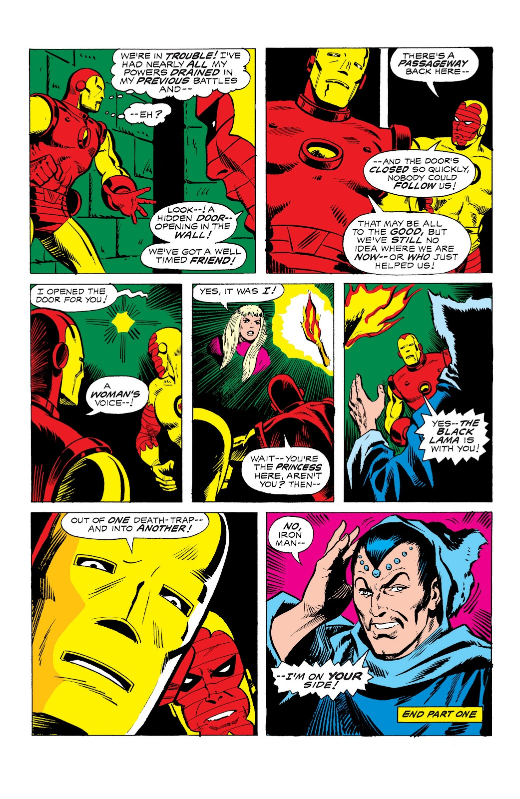Read online Marvel Masterworks: The Invincible Iron Man comic -  Issue # TPB 10 (Part 3) - 22