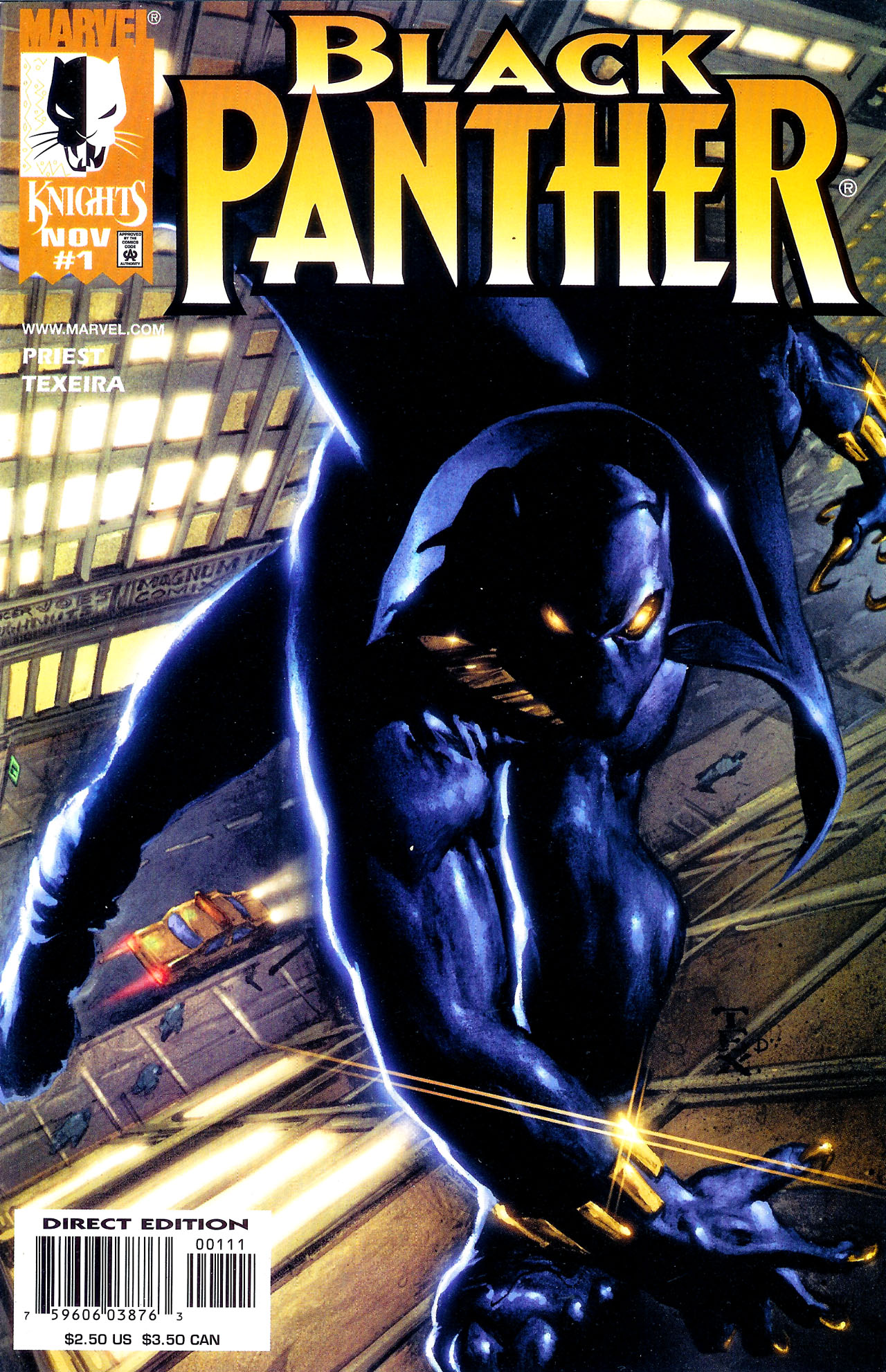 Black Panther (1998) 1 Page 1