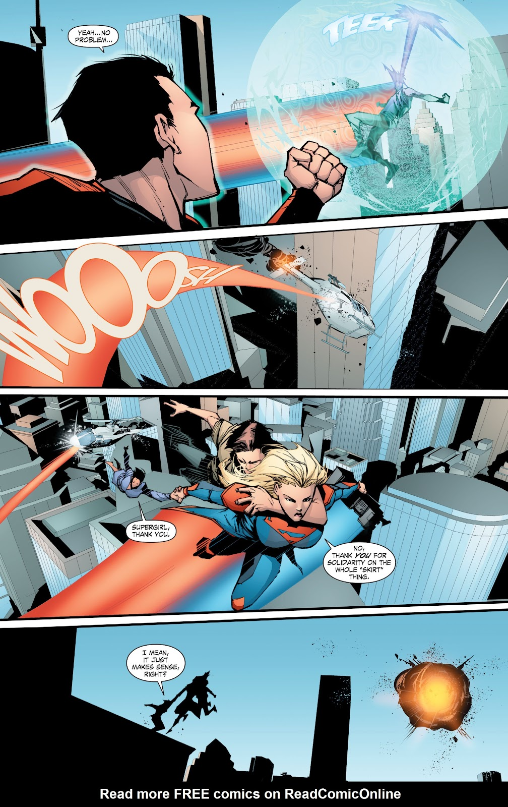 Read online Smallville Season 11 [II] comic -  Issue # TPB 8 - 147