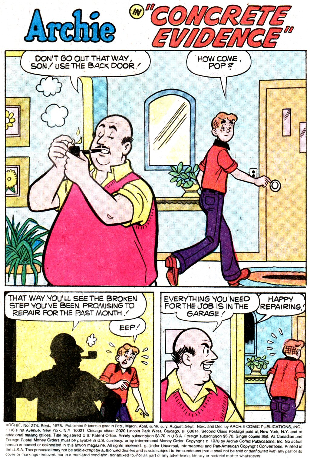 Read online Archie (1960) comic -  Issue #274 - 3