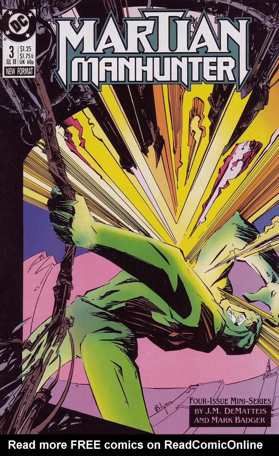 Martian Manhunter (1988) 3 Page 1