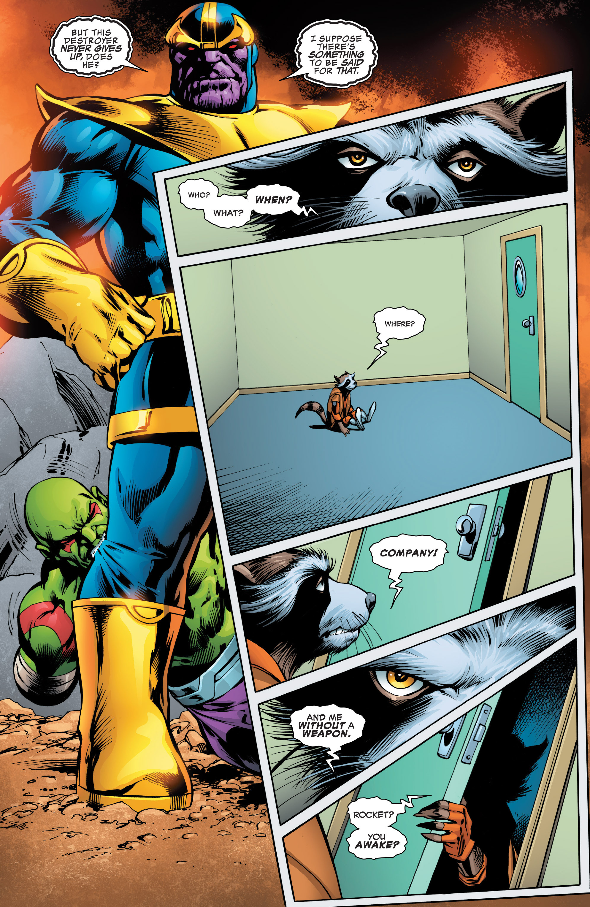 Read online Guardians of the Galaxy: Mother Entropy comic -  Issue #2 - 10