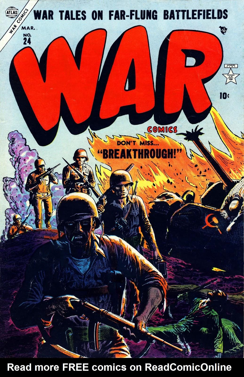 War Comics 24 Page 1