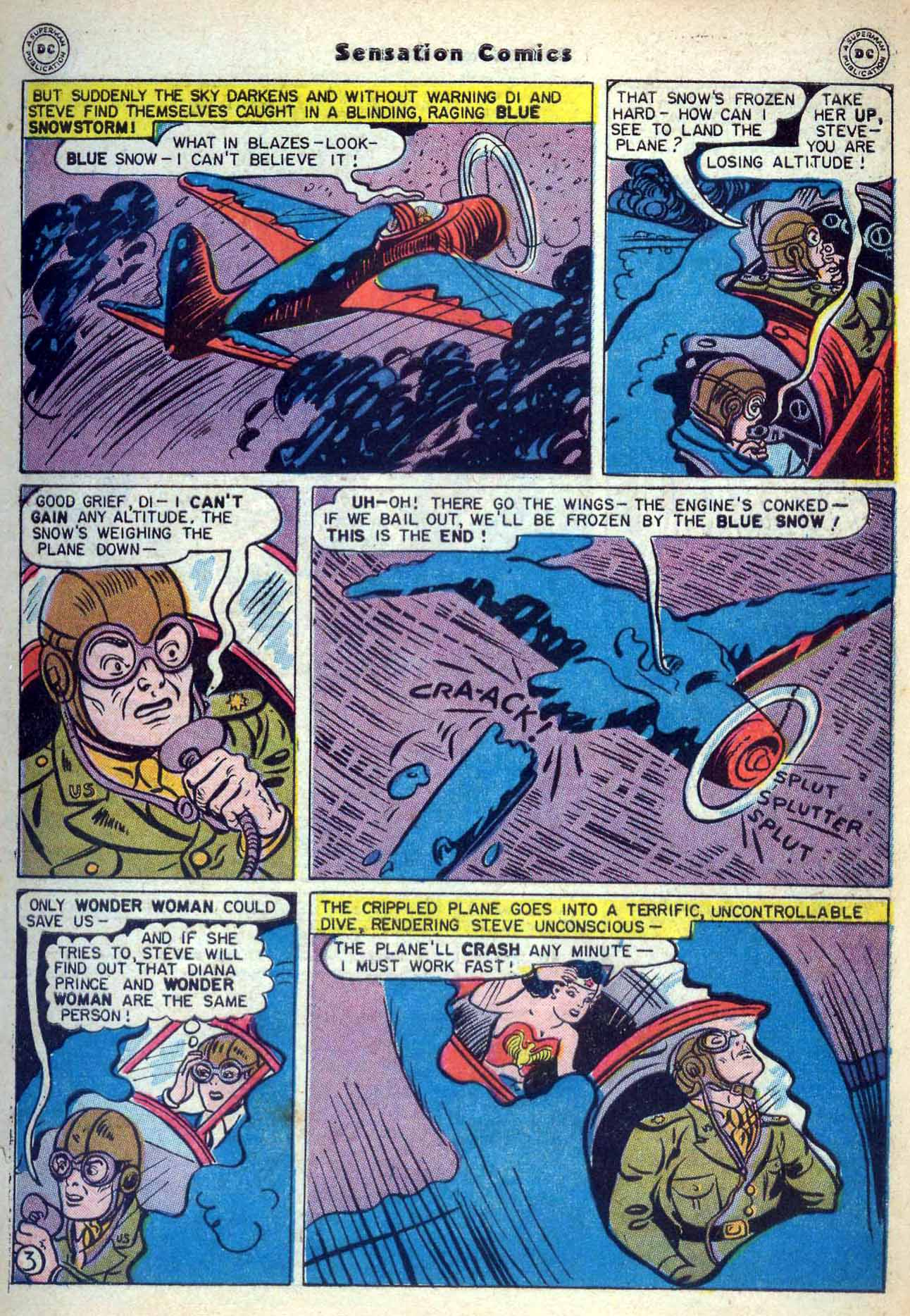 Read online Sensation (Mystery) Comics comic -  Issue #59 - 5