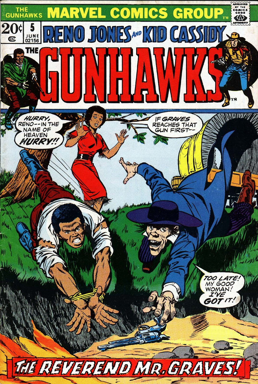 Gunhawks issue 5 - Page 1