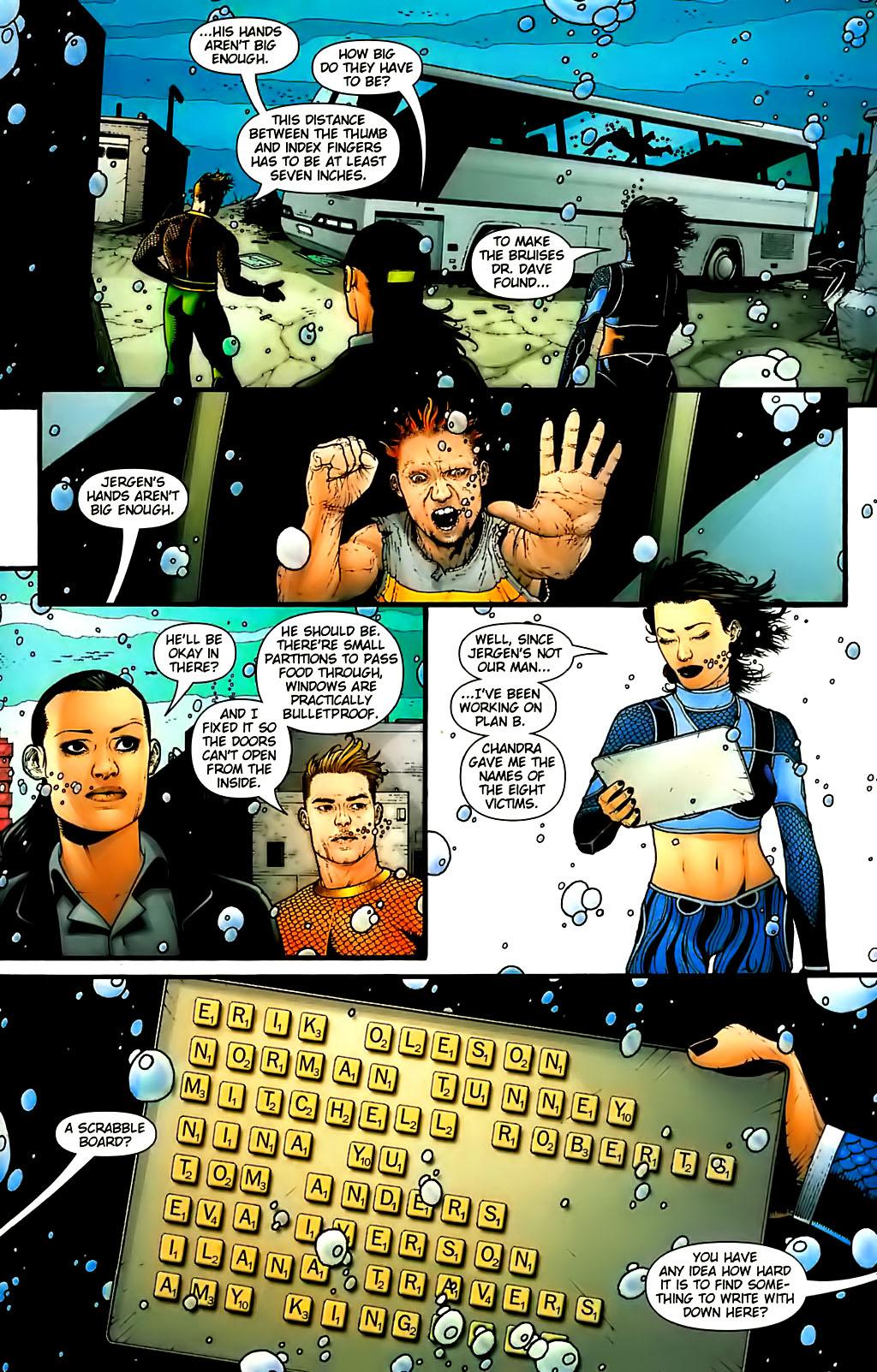 Read online Aquaman (2003) comic -  Issue #30 - 19