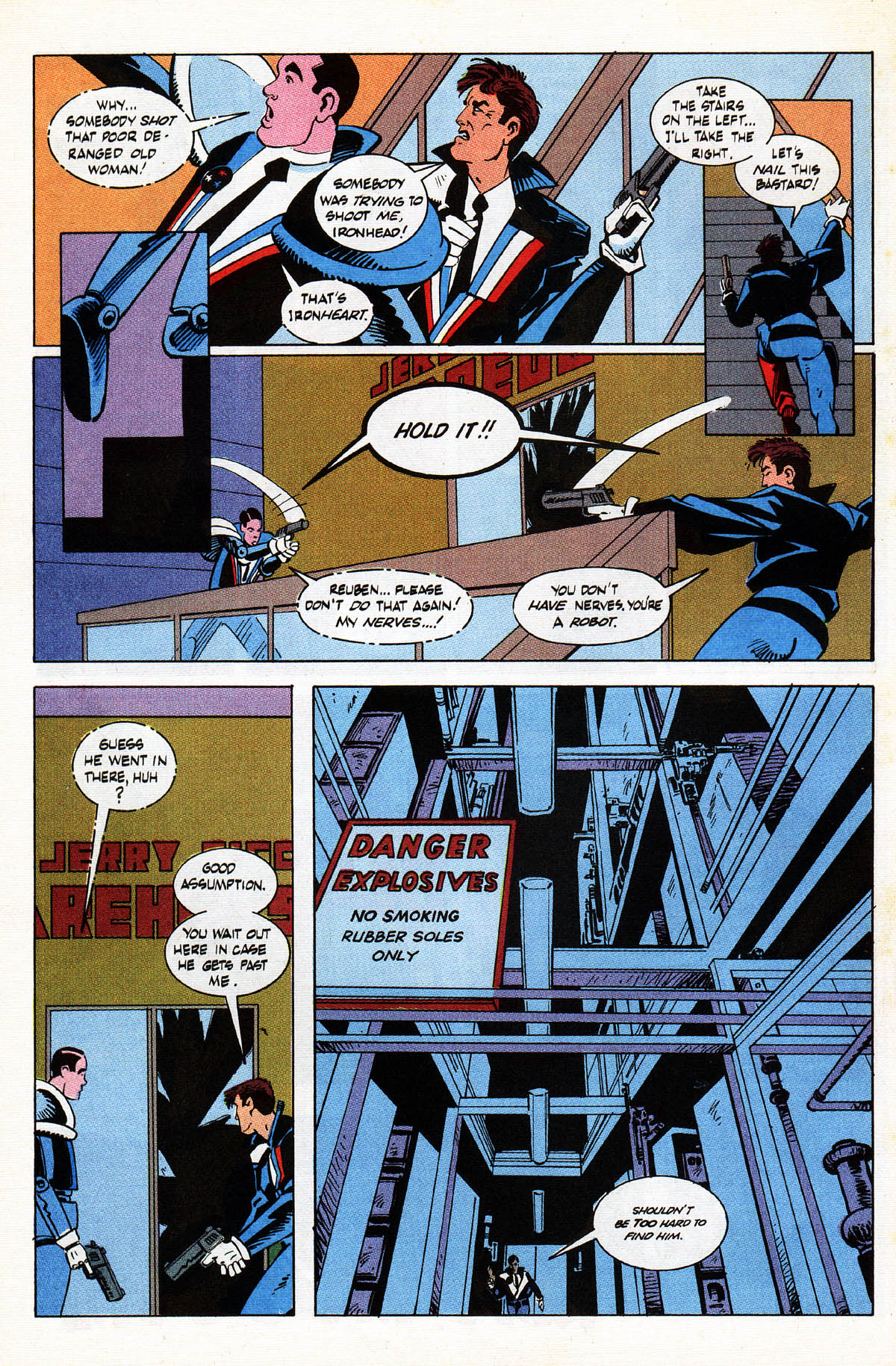 Read online American Flagg! comic -  Issue #38 - 18