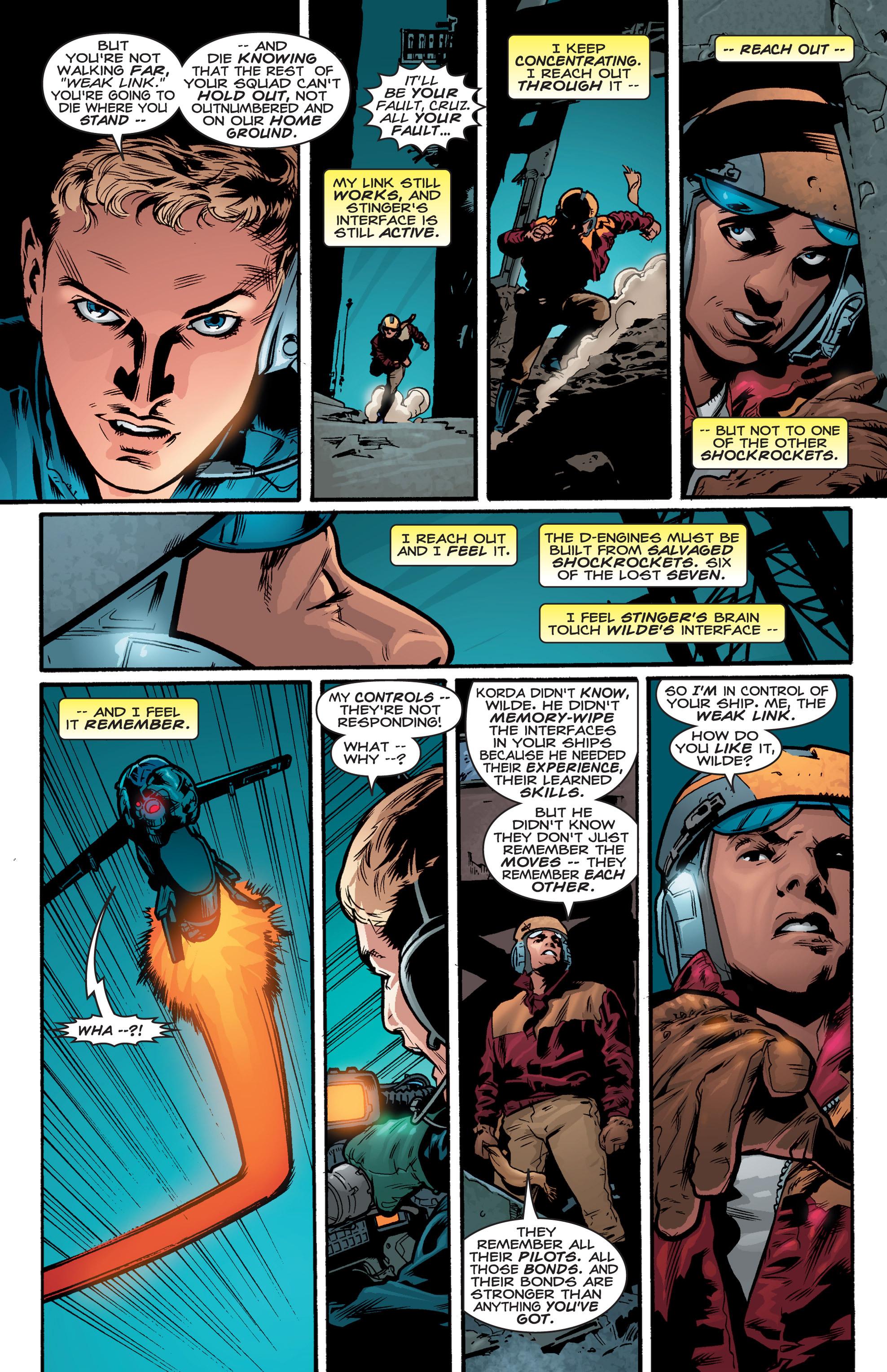 Read online Shockrockets comic -  Issue # TPB - 139
