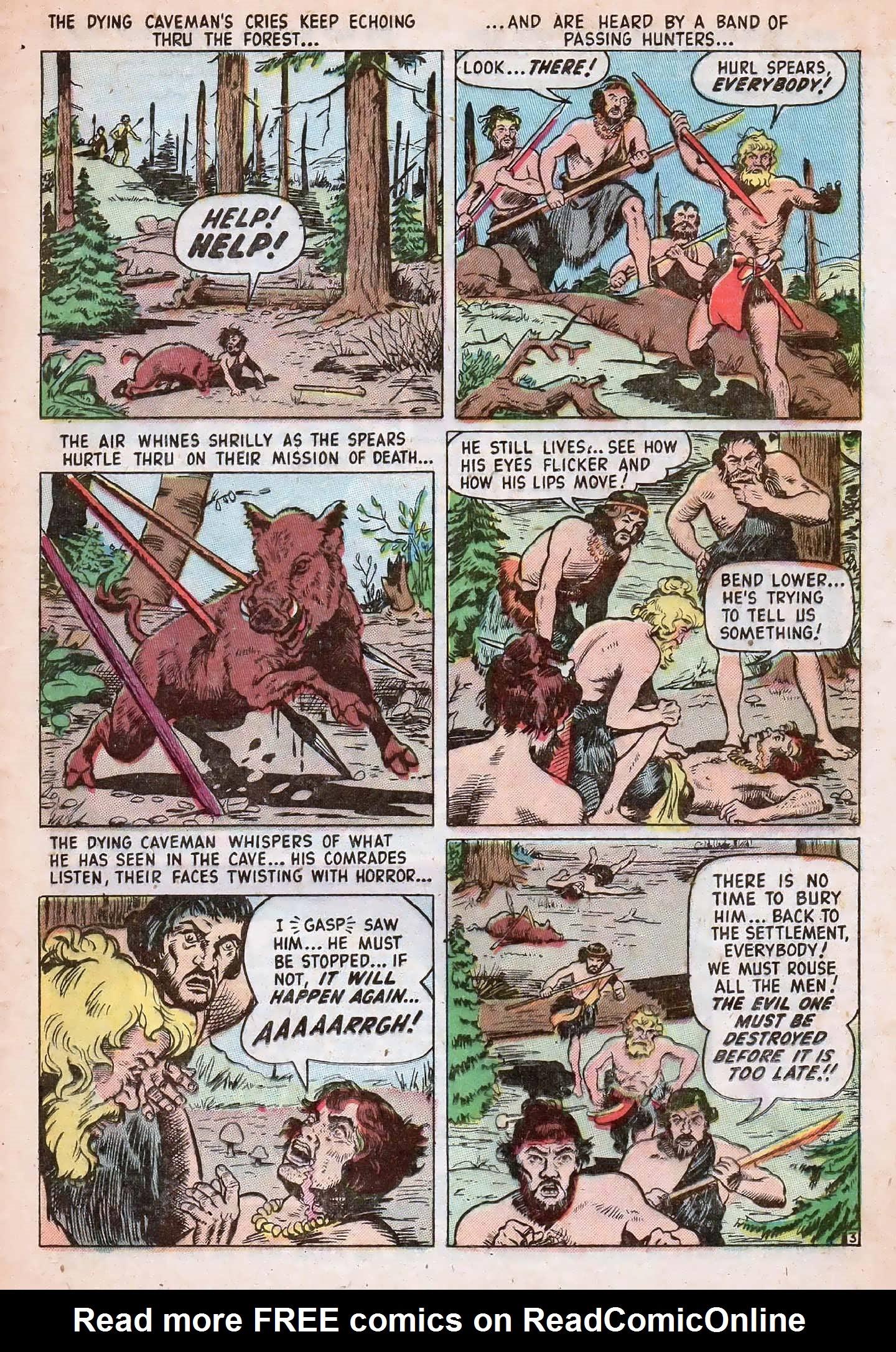 Read online Adventures into Weird Worlds comic -  Issue #20 - 25