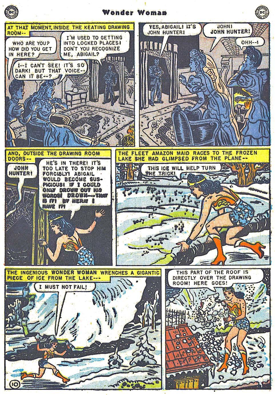 Read online Wonder Woman (1942) comic -  Issue #38 - 12