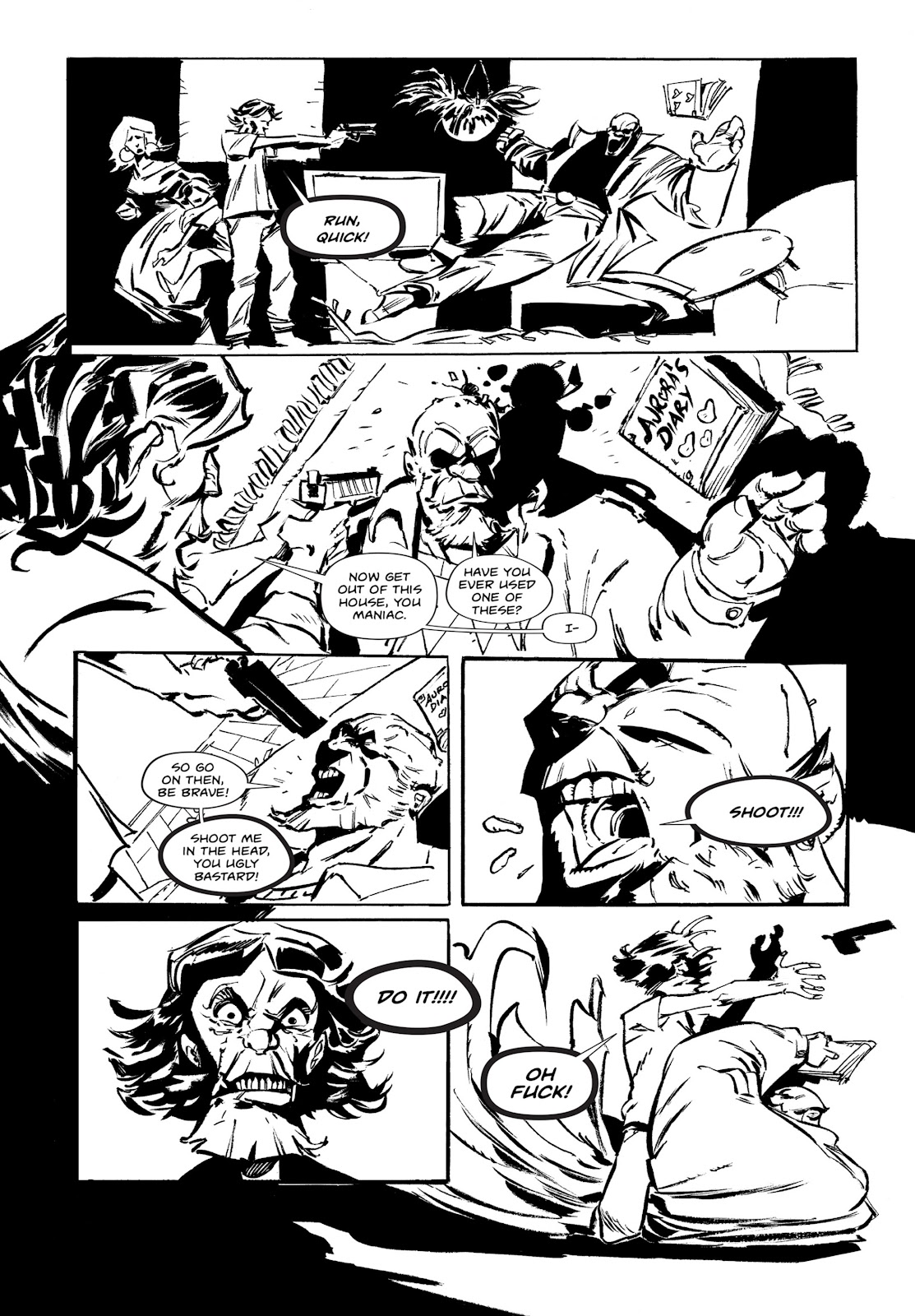 Read online Wrath of God comic -  Issue # _TPB - 37